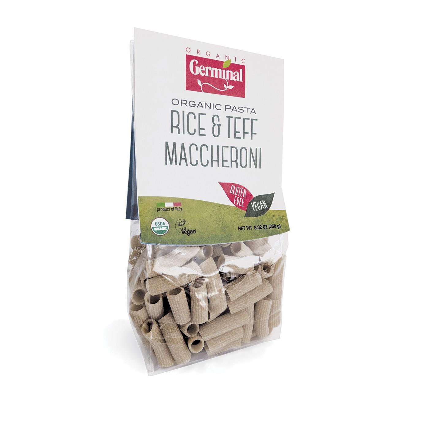 Rice & Teff Maccheroni 8 oz
