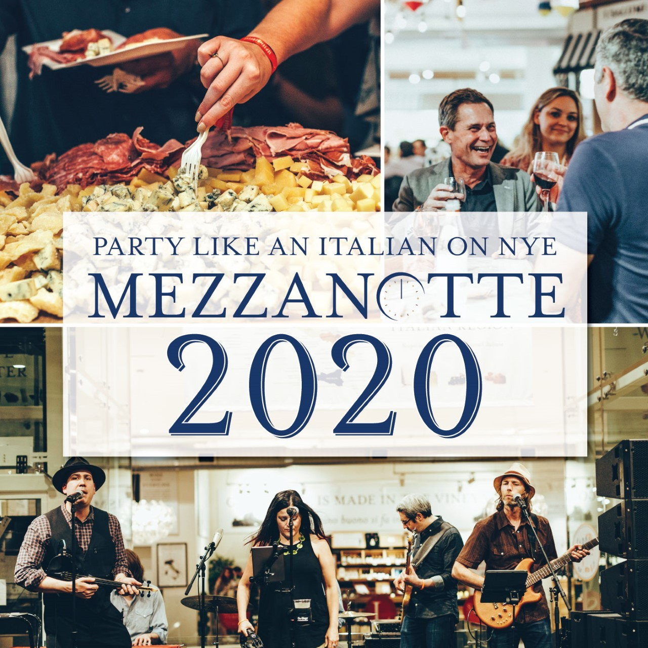 New Year's Eve at Eataly Chicago: Mezzanotte