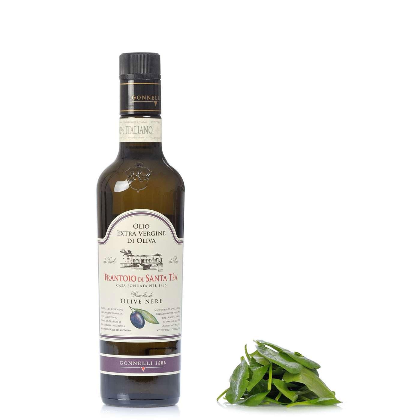 Black Olives Extra Virgin Olive Oil 16.9 oz