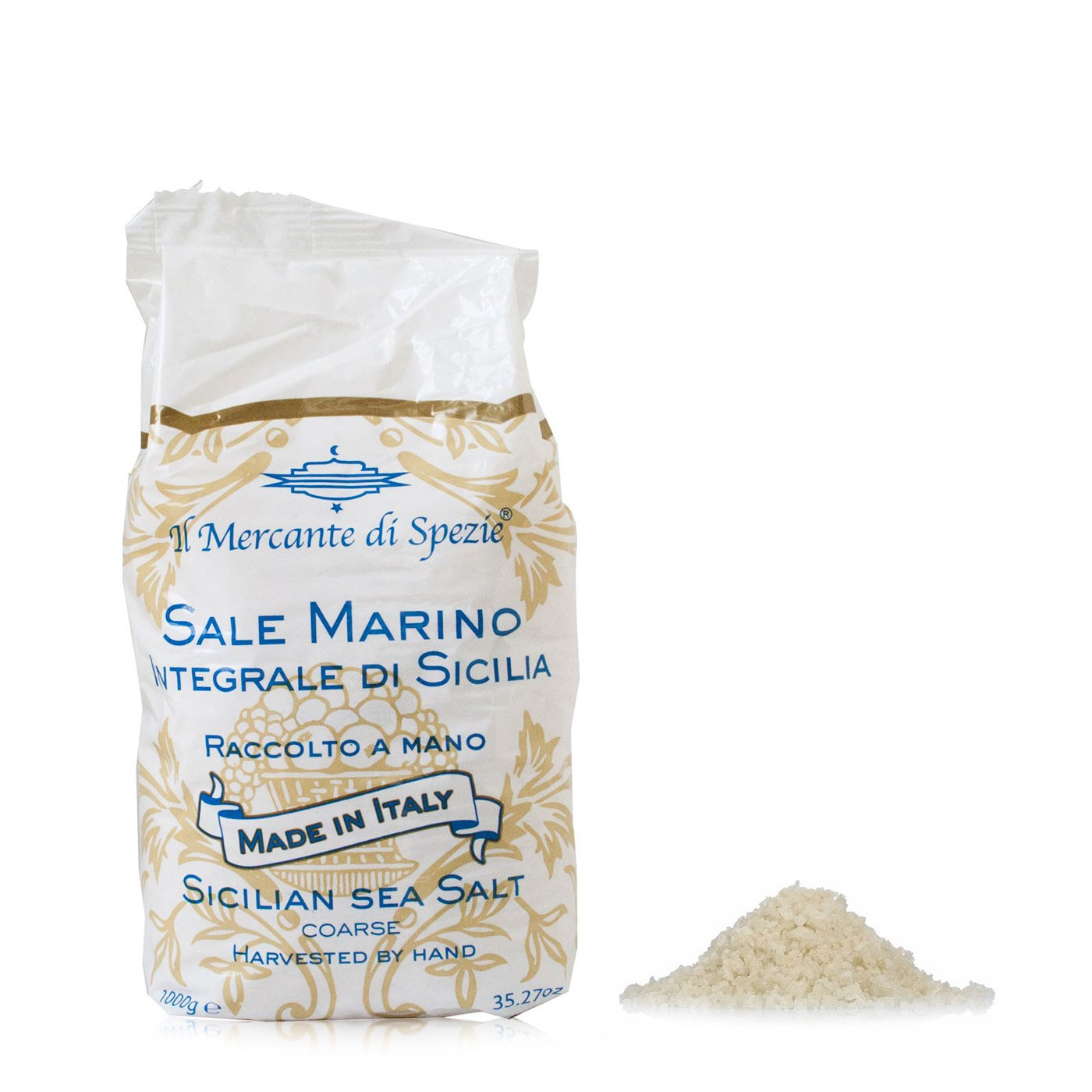 Fine Sicilian Sea Salt 2.2LB