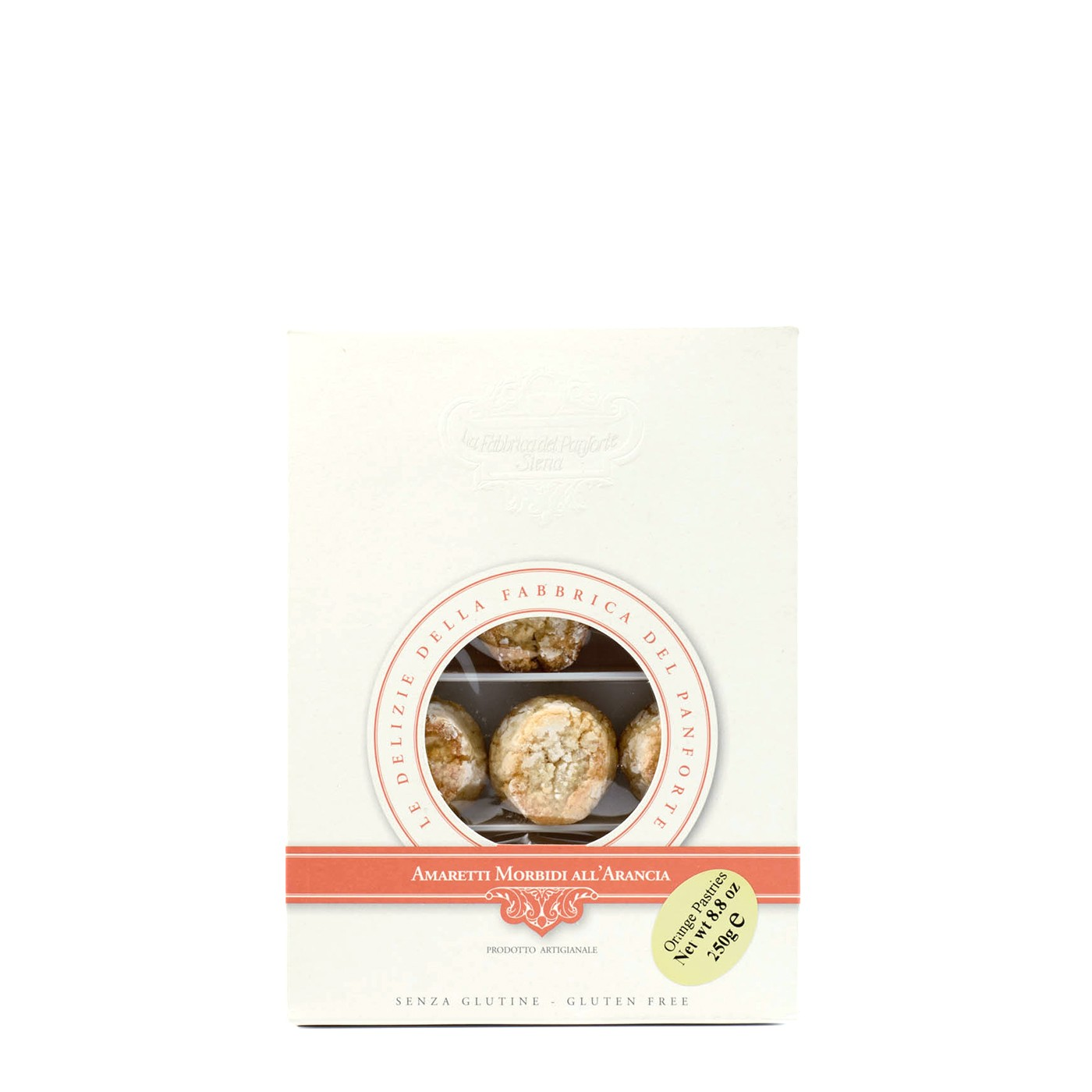 Soft Amaretti Cookies with Orange 8.8 oz