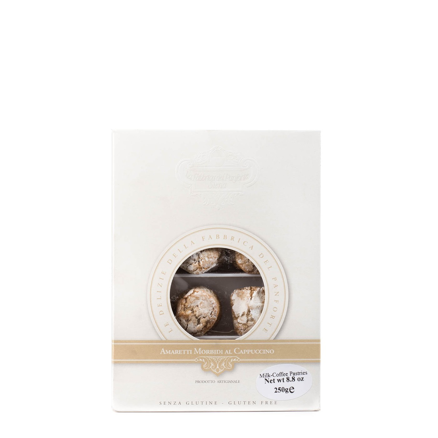 Soft Amaretti Cookies with Coffee 8.8 oz