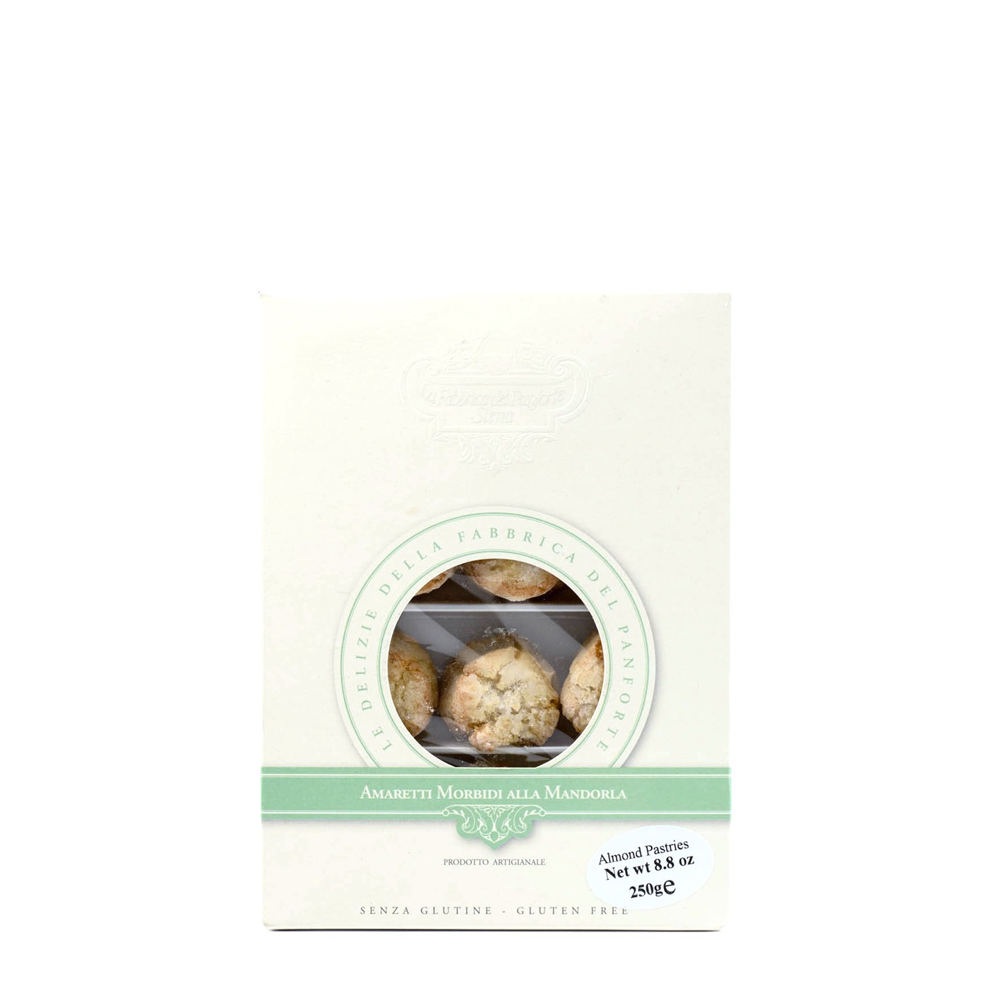 Soft Amaretti Cookies with Almonds 8.8 oz