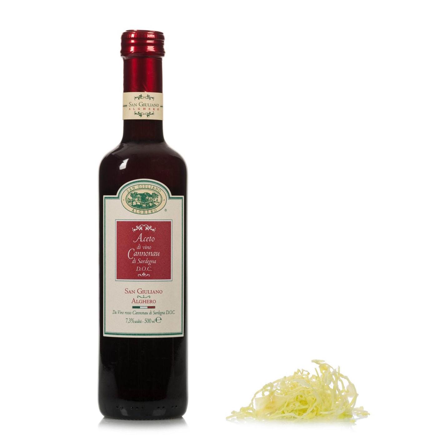 Cannonau Wine Vinegar 16 oz