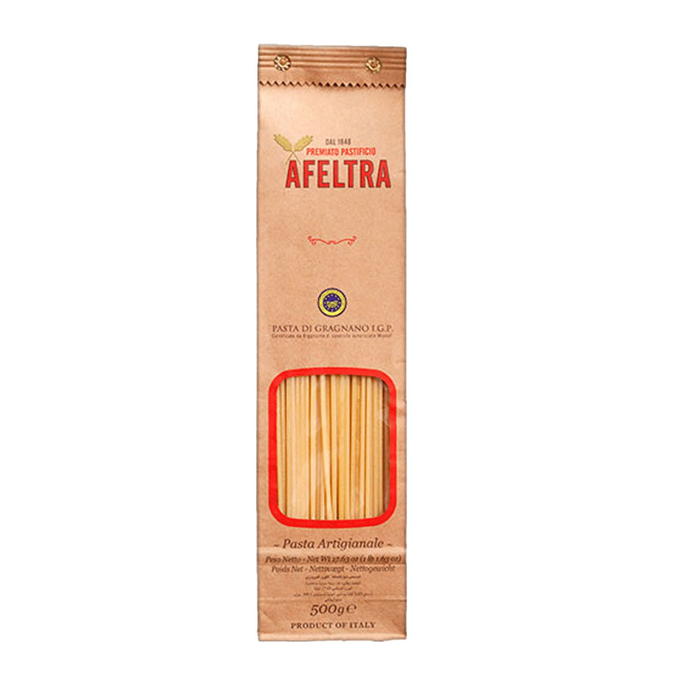 Spaghetti Chitarra 17.6 oz - Afeltra