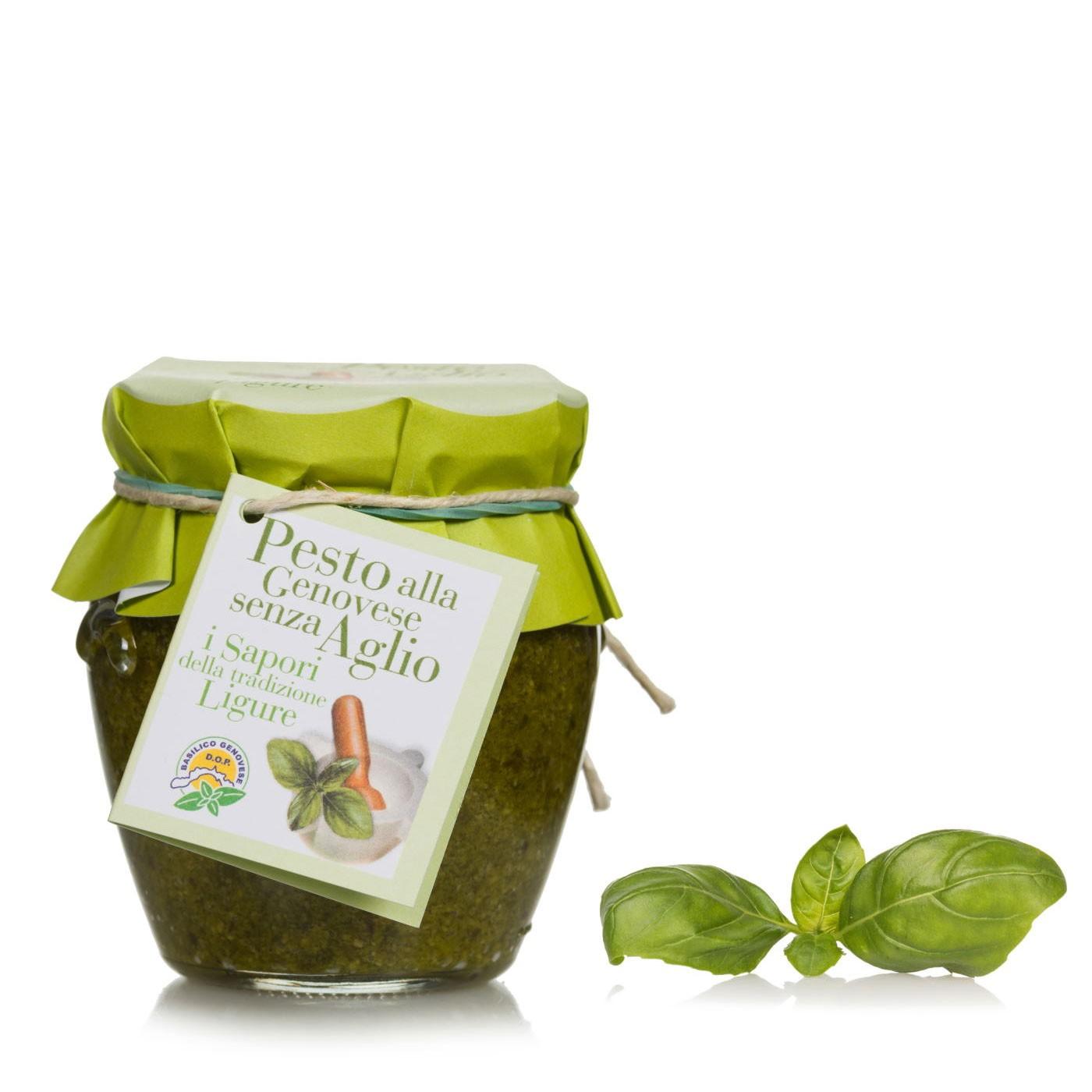 Basil Pesto without Garlic 6.3 oz