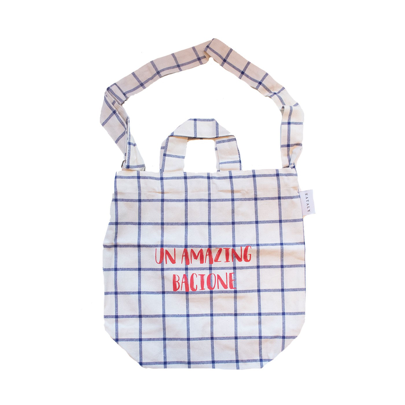 Un Amazing Bacione Canvas Bag - Eataly