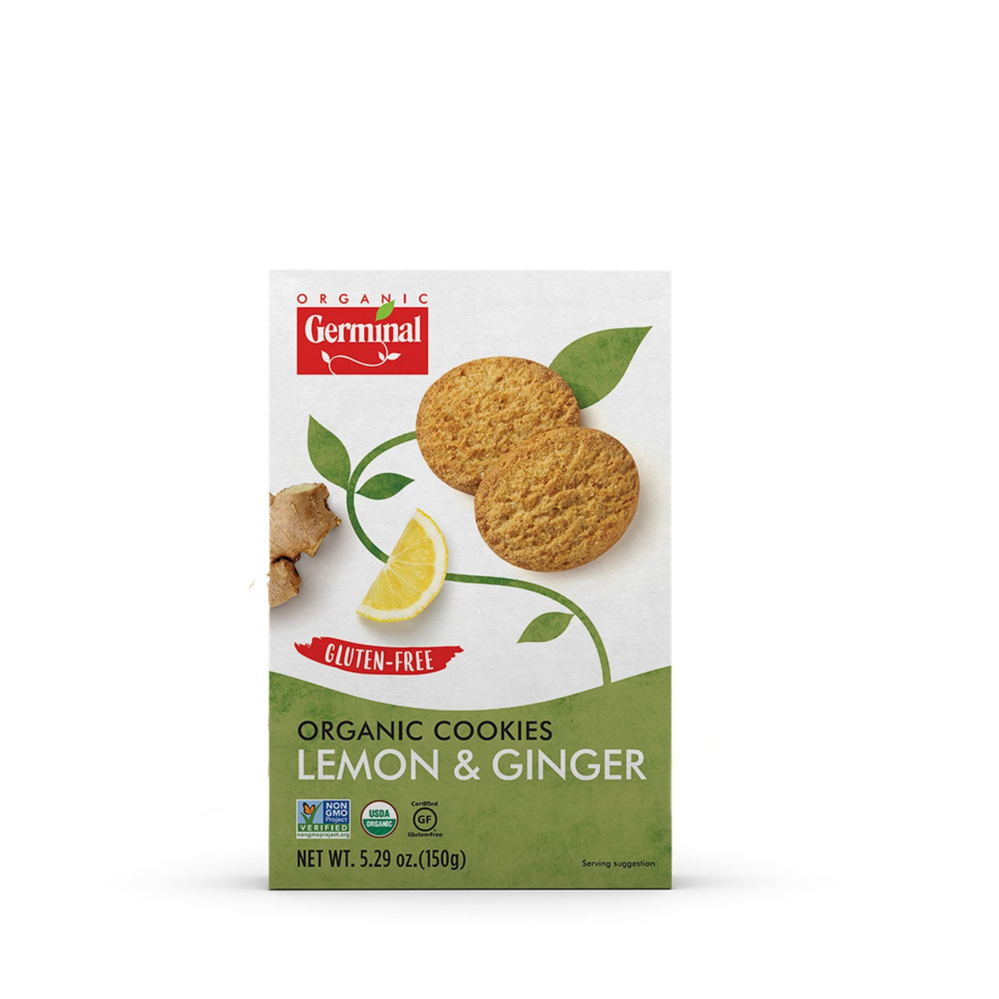 Lemon and Ginger Cookies 5 oz