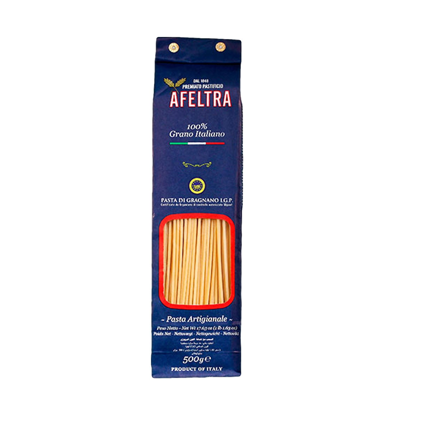 100% Italian Grain Bucatini 17.6 oz- Afeltra