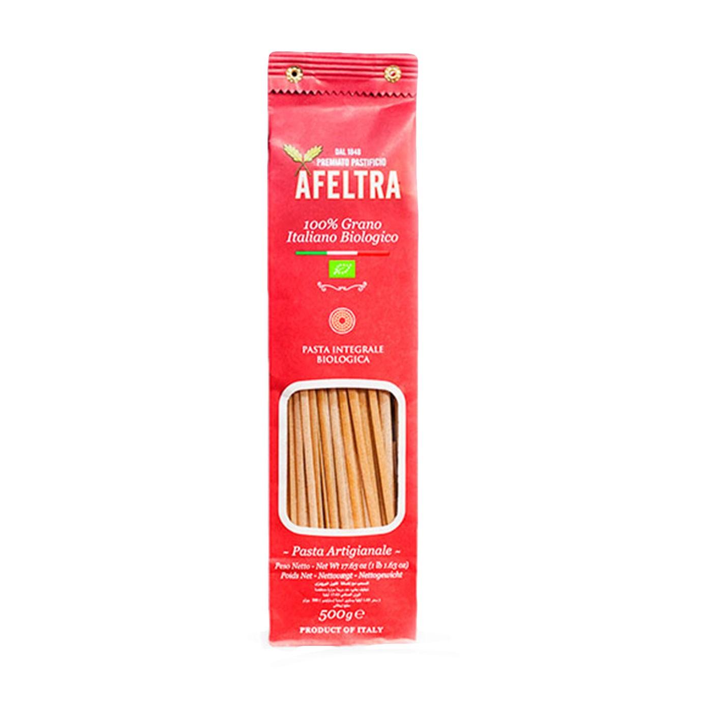 Organic Whole Wheat Linguine 17.6oz - Afeltra