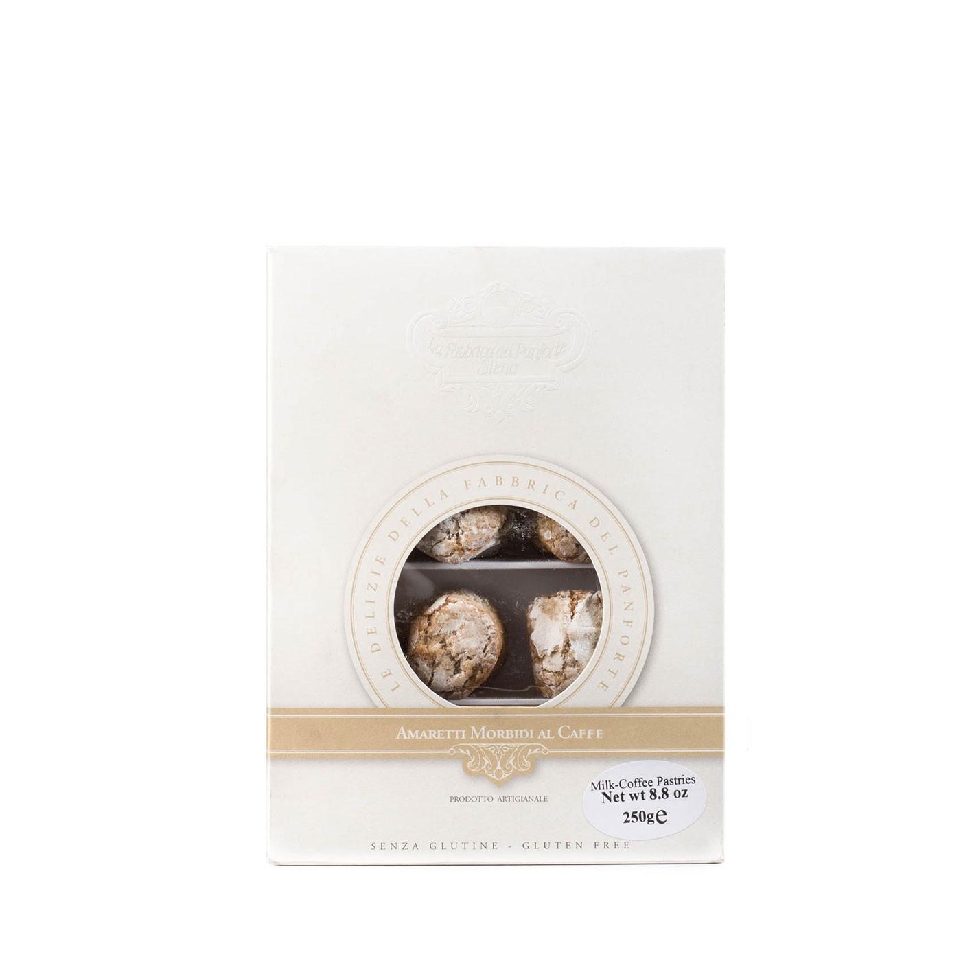 Soft Amaretti Cookies with Coffee 8.8 oz - Fabbrica Del Panforte | Eataly.com