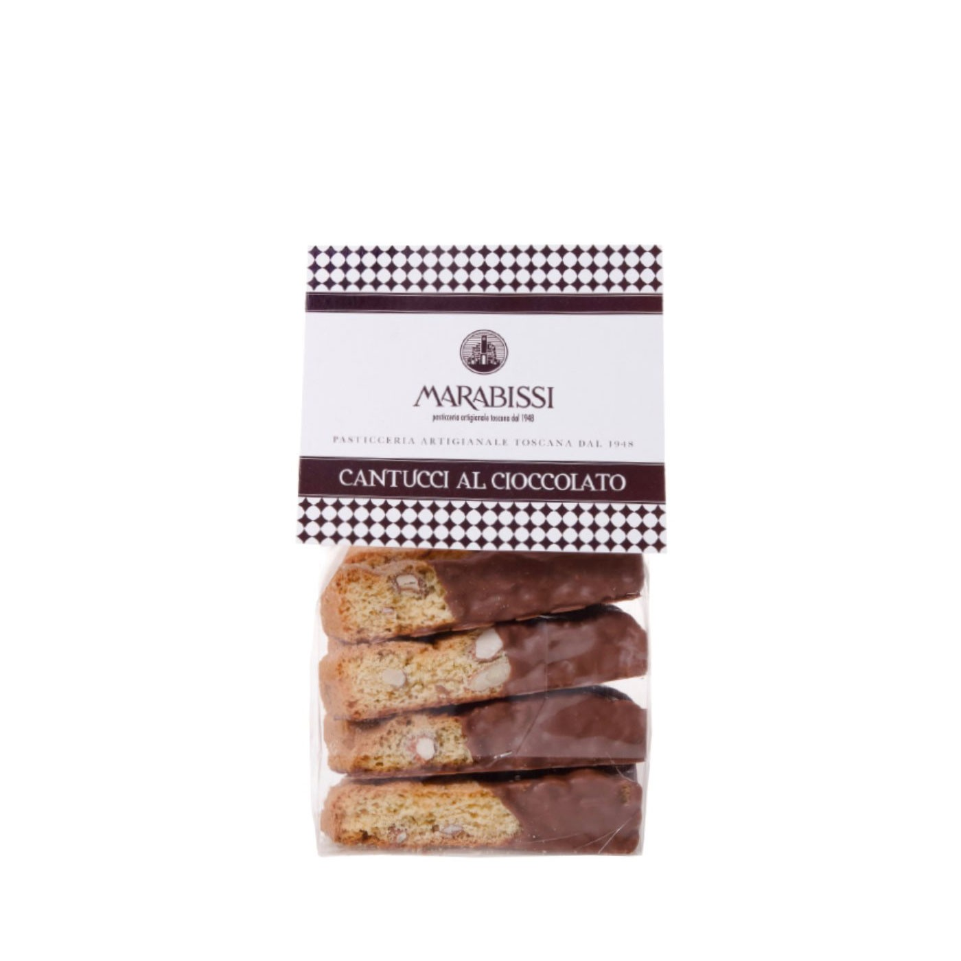 Chocolate Covered Cantucci Cookies 5.3 oz