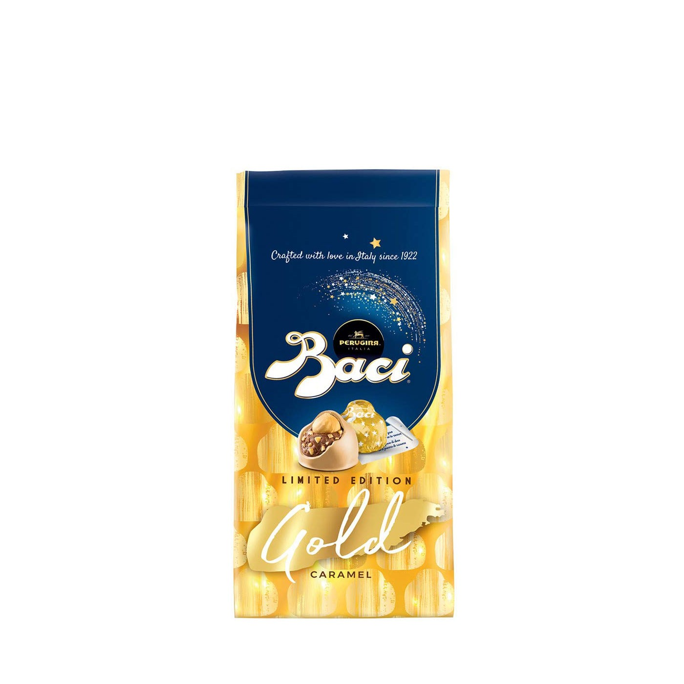 Caramel Gold Baci Bag 3.9 oz  - Perugina | Eataly.com
