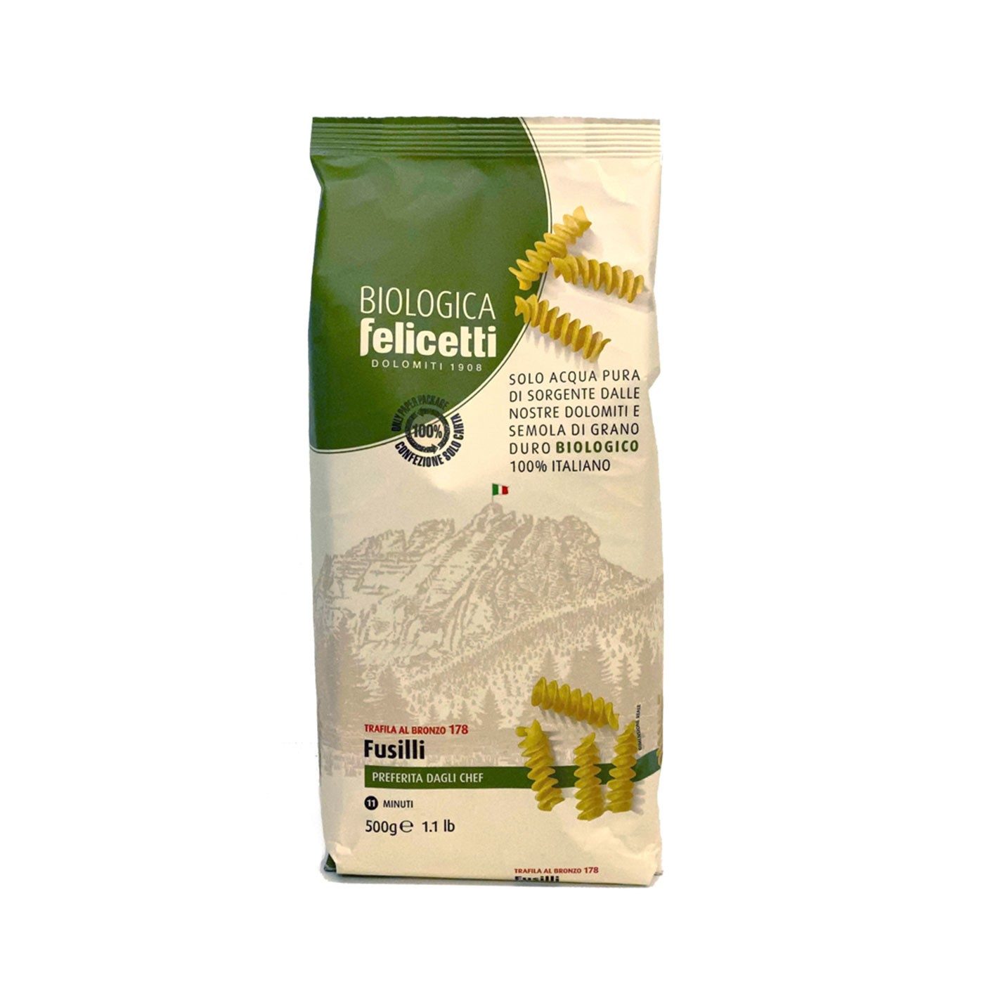 Organic Fusilli 17.6 oz - Felicetti | Eataly.com