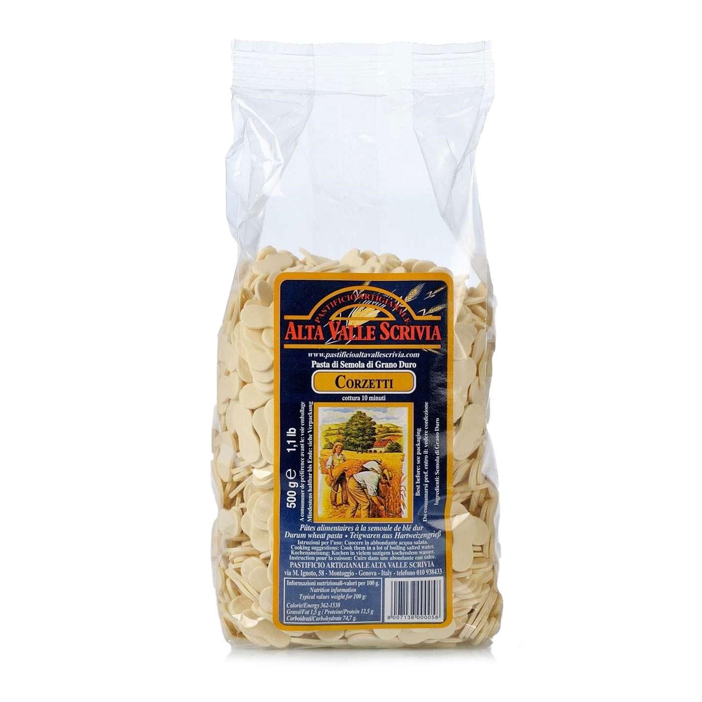 Corzetti Pasta 17.6 oz - Alta Valle Scrivia