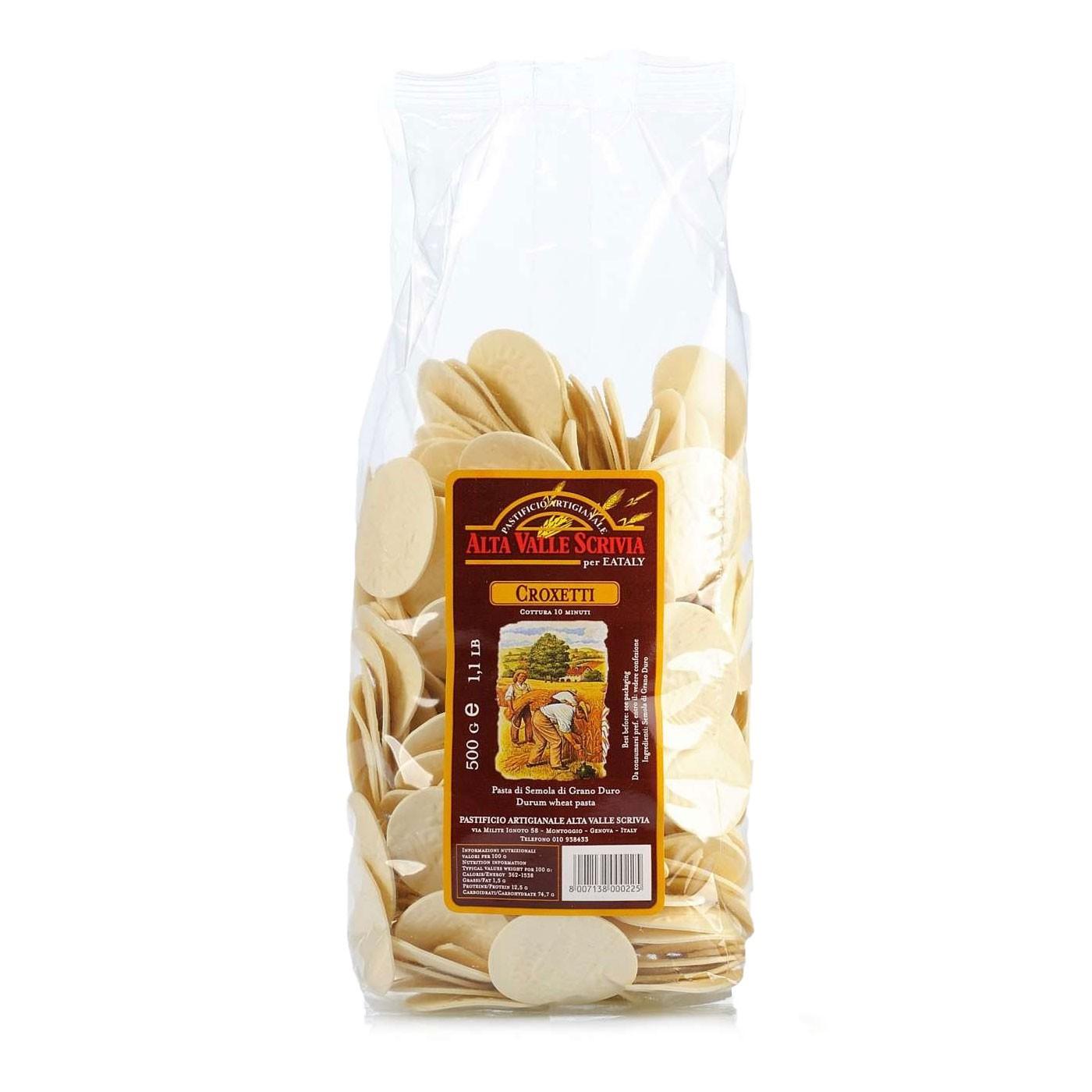 Croxetti Pasta 17.6 oz - Alta Valle Scrivia