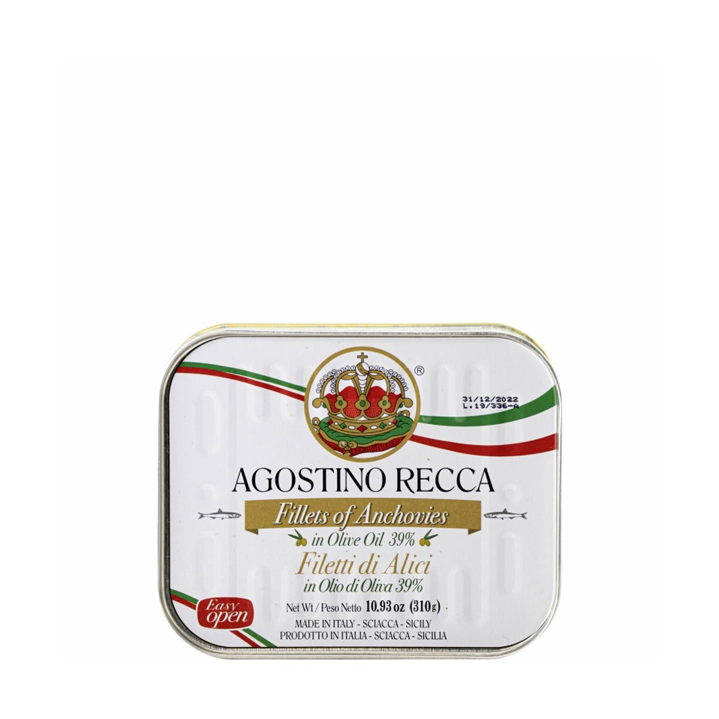 Anchovies In Olive Oil- Tin 24.7 Oz