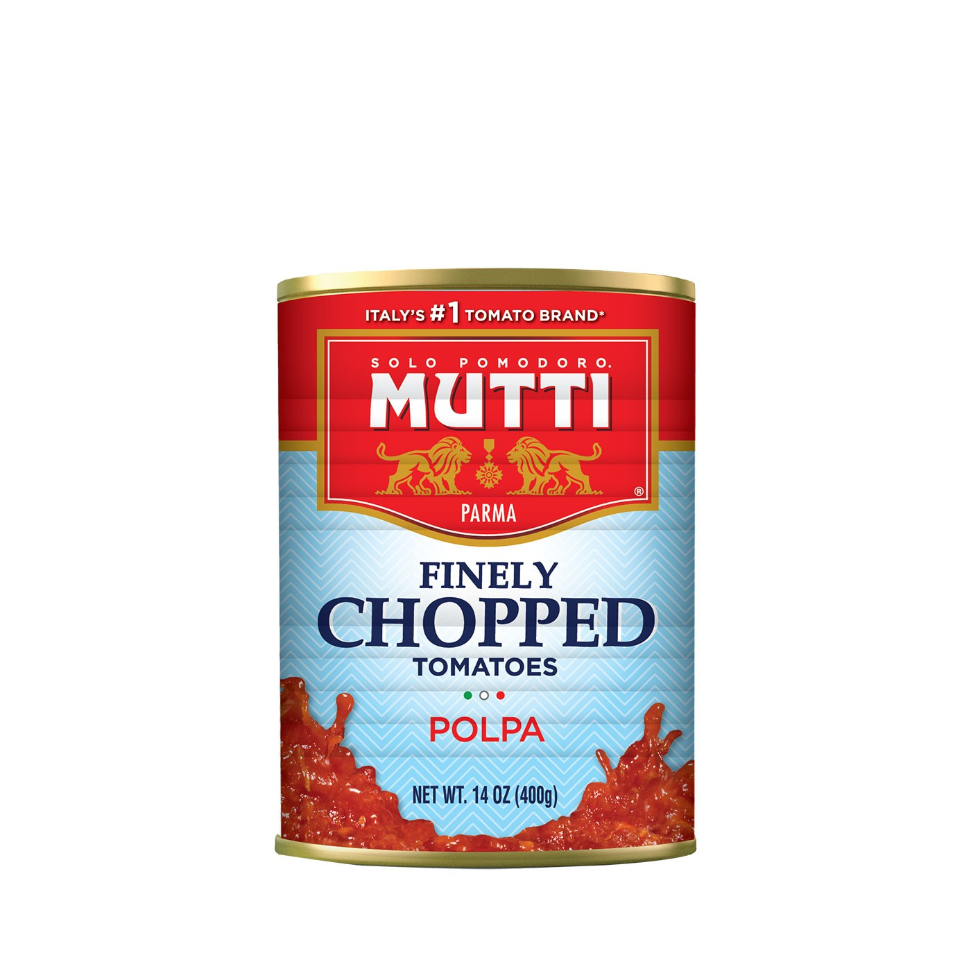 Finely Chopped Tomatoes 14 oz - Mutti | Eataly.com