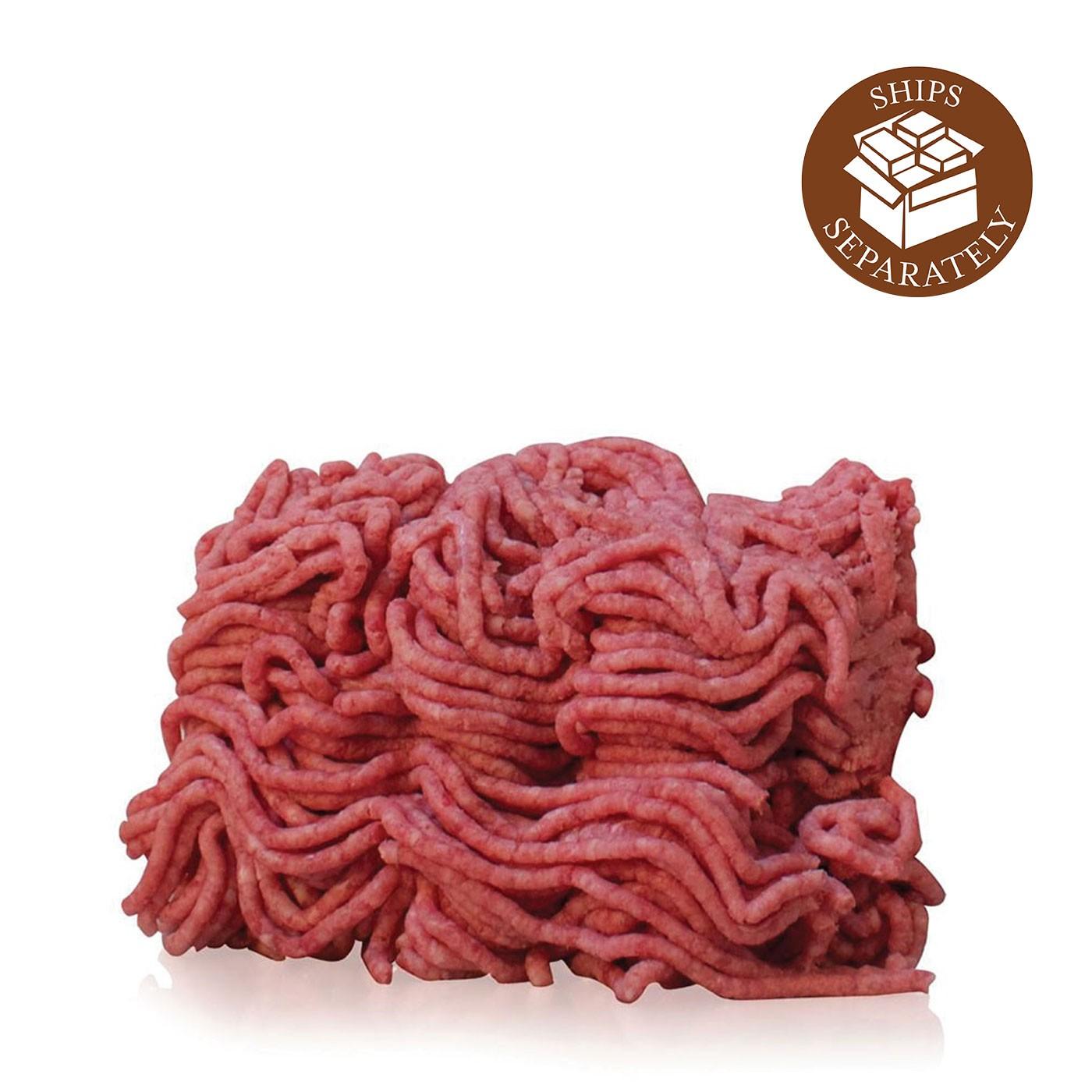 Meatball Mix: Heritage Breed Hampshire Pork, Prime Black Angus Beef, Milk-fed Veal, 3 lbs