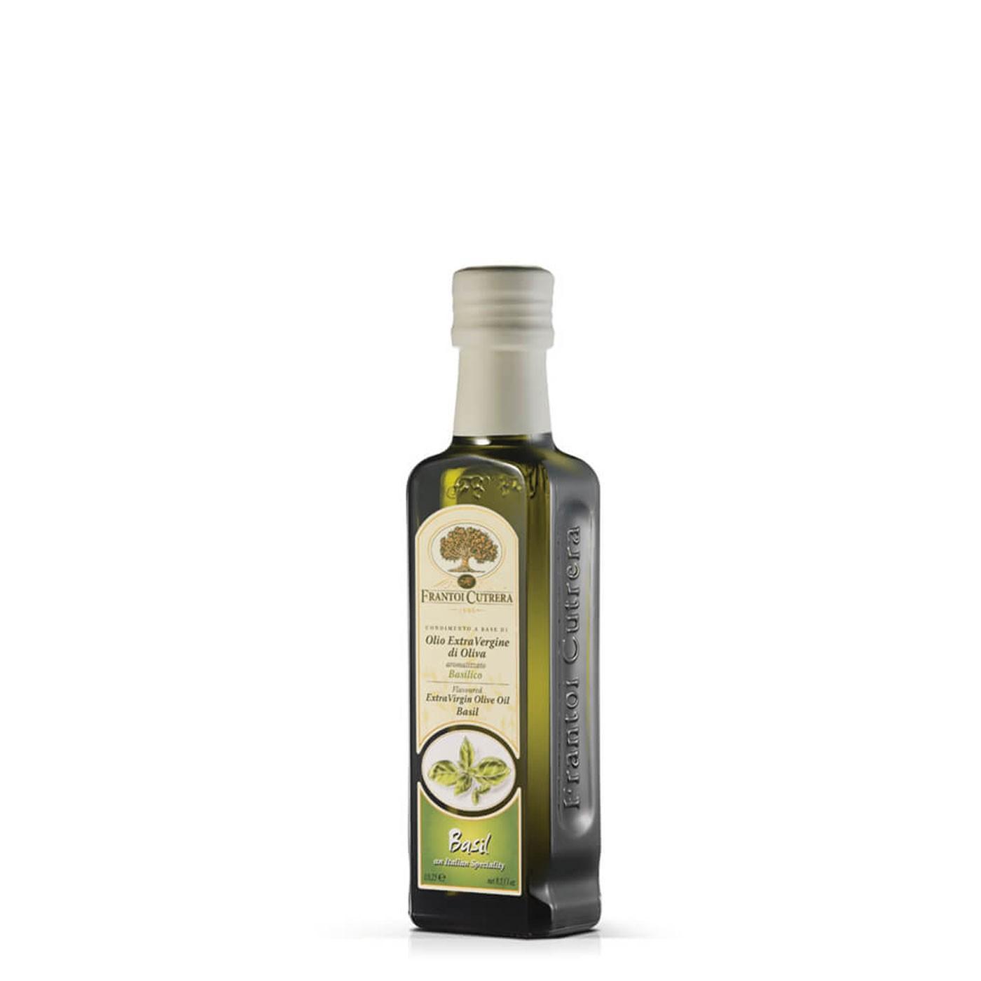 Basil Infused Extra Virgin Olive Oil 8.45 oz