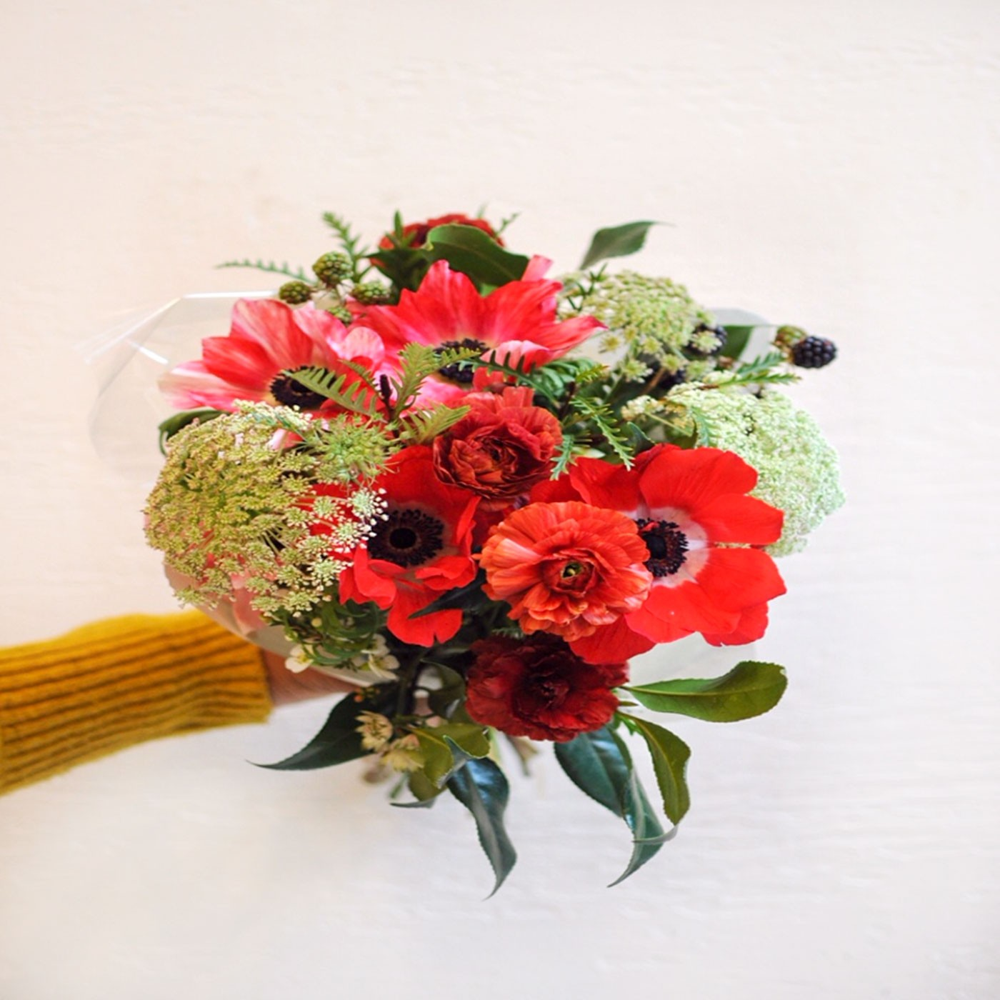 Hand-tied Flower Bouquet, 10 Stems - Il Fiorista | Eataly.com