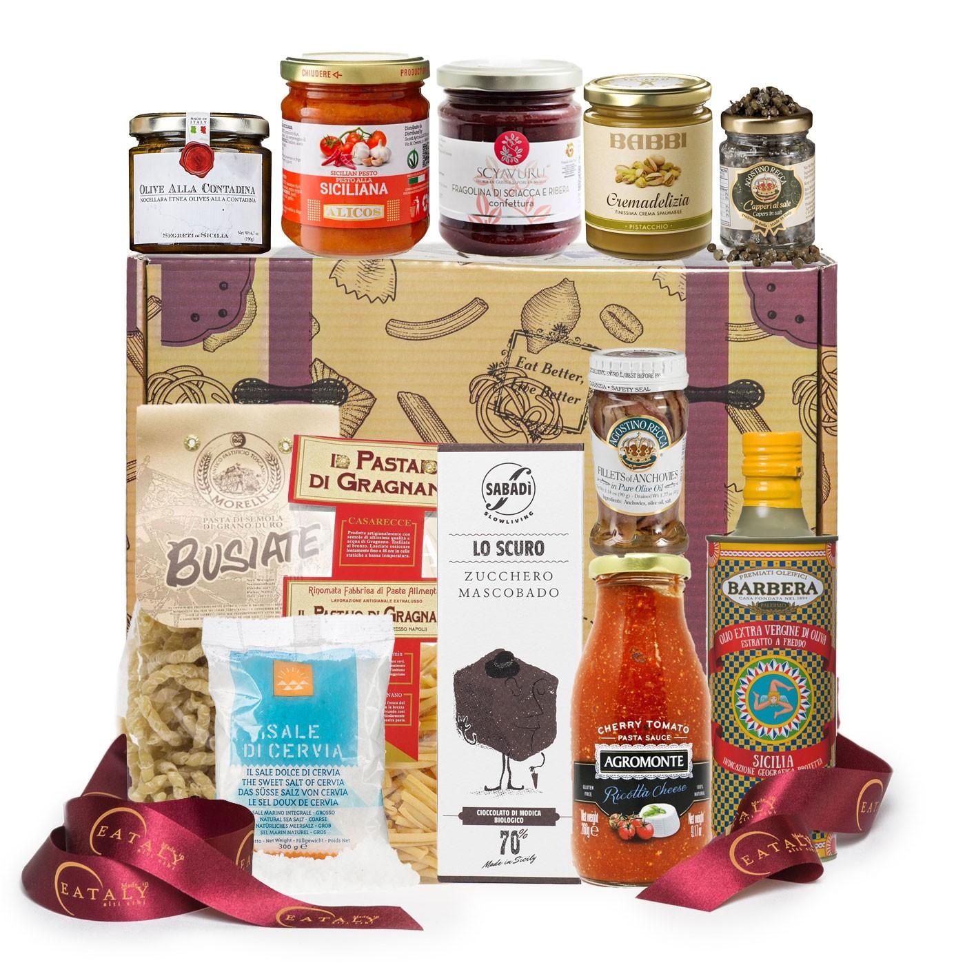 Sicilian Gift Basket: Shop Online