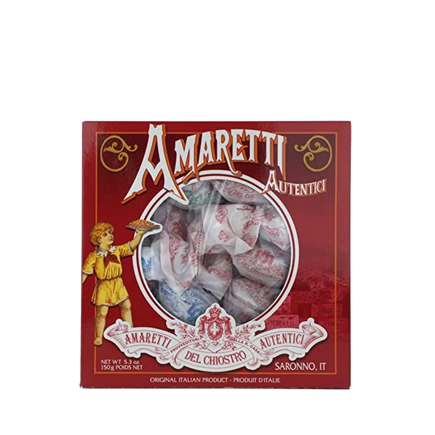 Assorted Amaretti Cookies in Box 5.2 oz