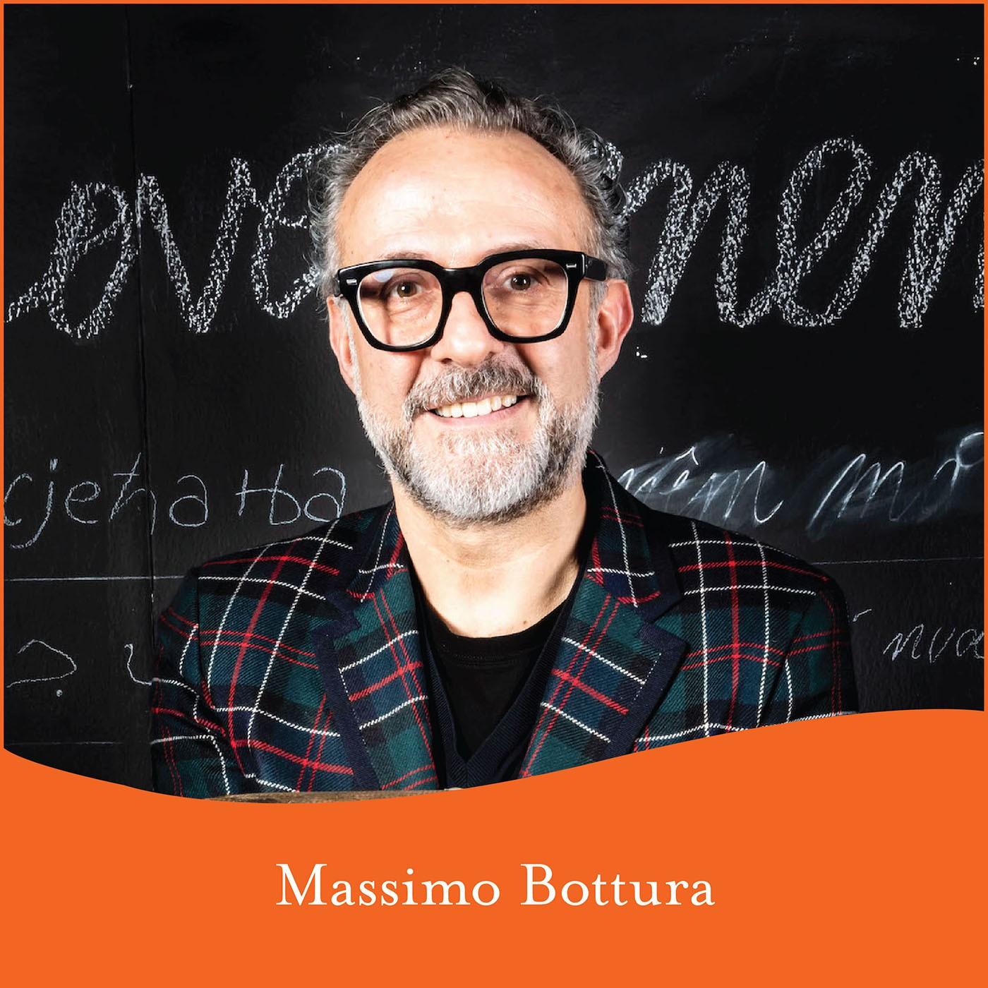 Identita' Golose 2019: Seminar with Massimo Bottura at SERRA by Birreria