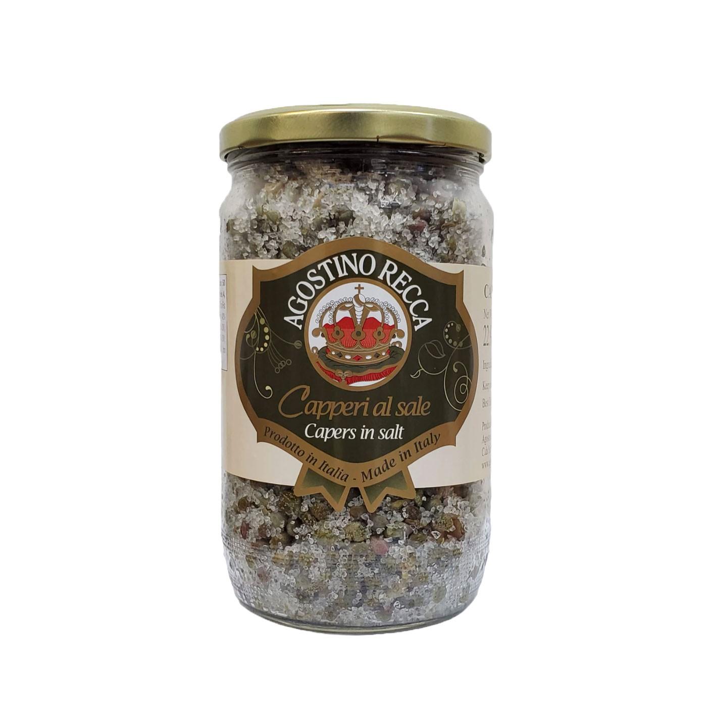 Capers In Salt - Jar 25.4 oz