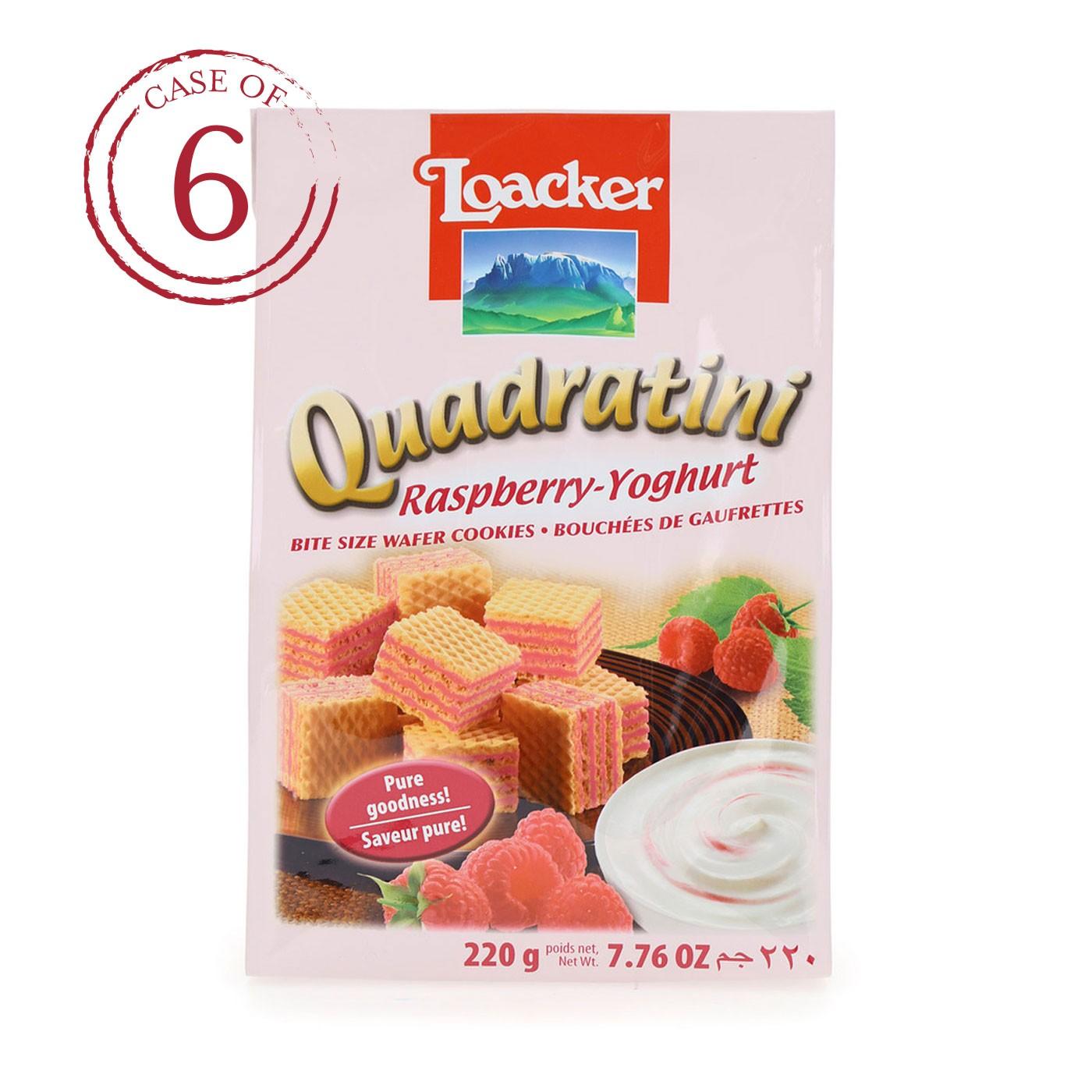 Raspberry-Yogurt Quadratini 7.7 oz - Case of 6