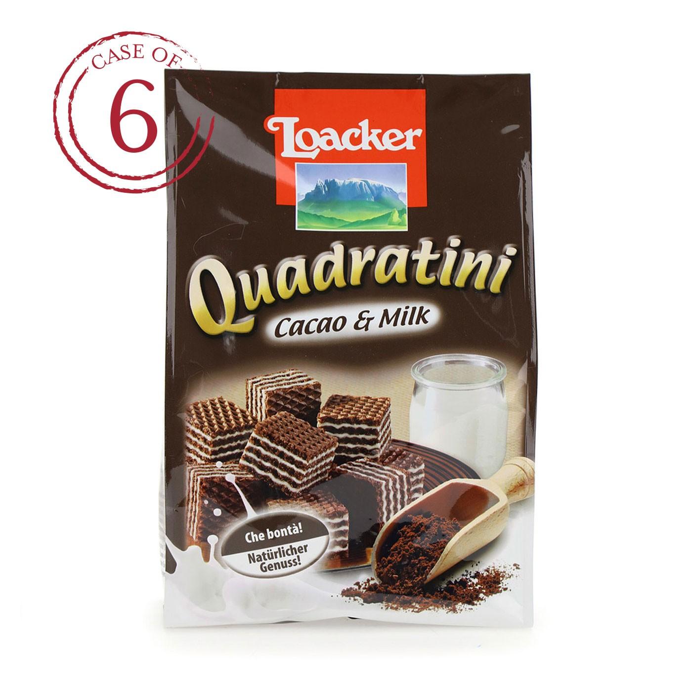 Cocoa-Milk Quadratini 8.8 oz - Case of 6