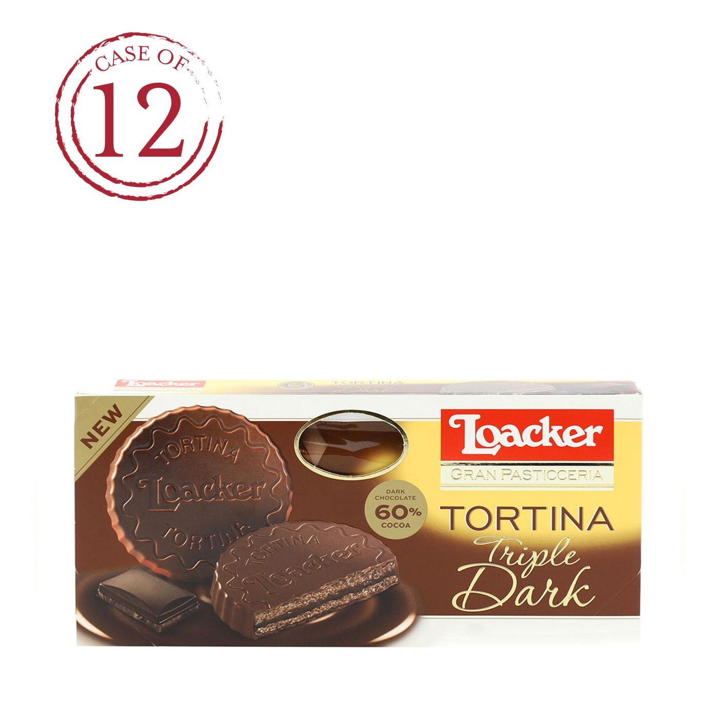 Gran Pasticceria TortinaTriple Dark 4.4 oz - Case of 12