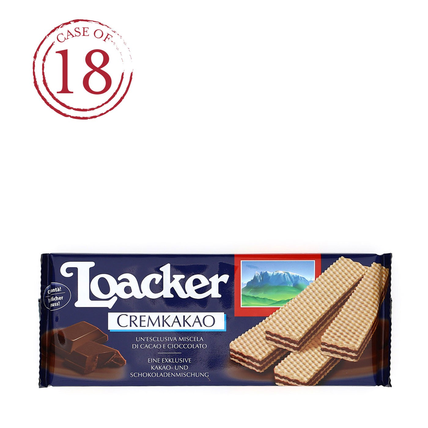 Classic Chocolate Wafers 6.17 oz - Case of 18
