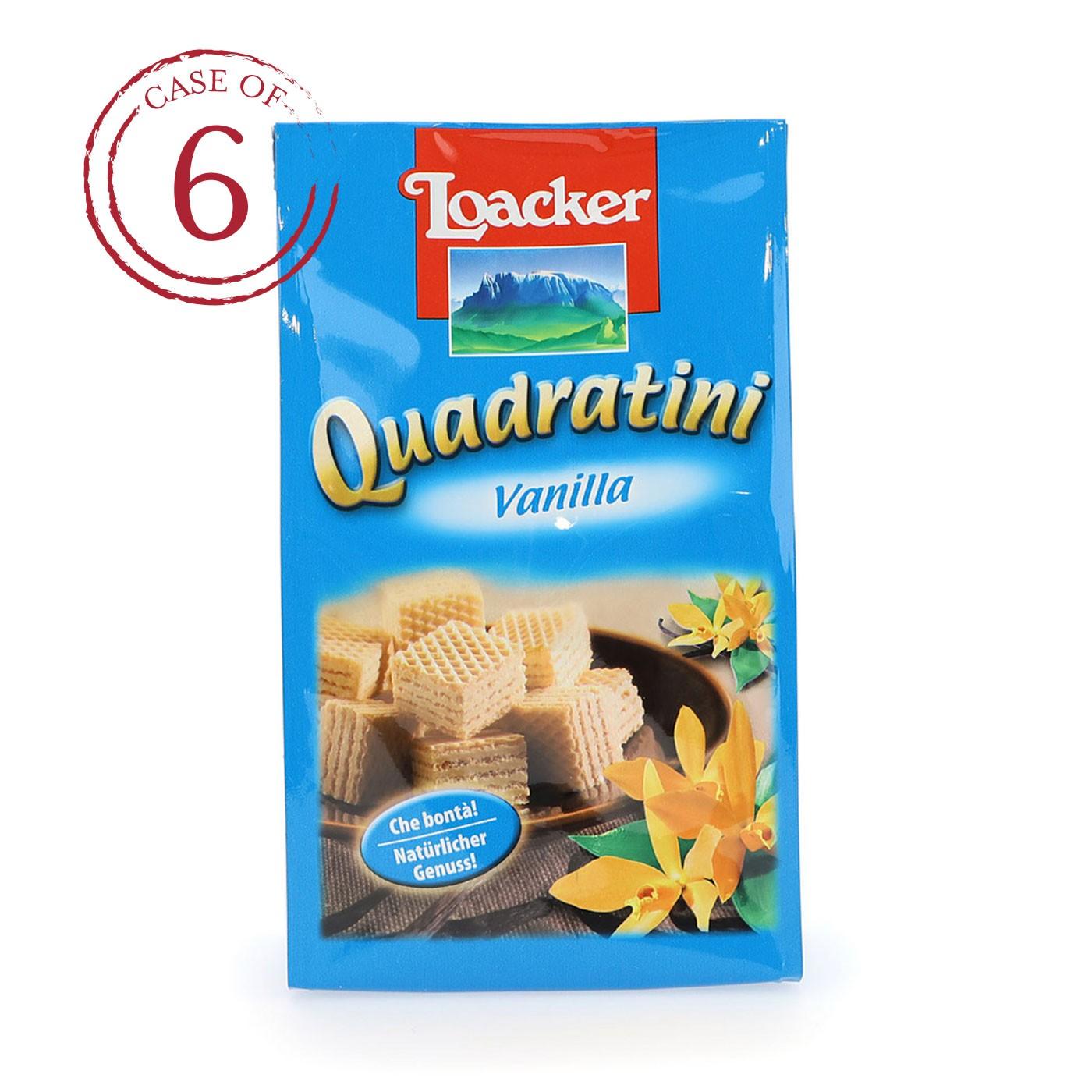 Vanilla Quadratini 4.4 oz - Case of 6