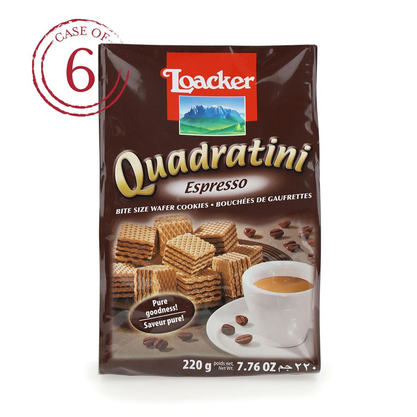Espresso Quadratini 7.7 oz - Case of 6