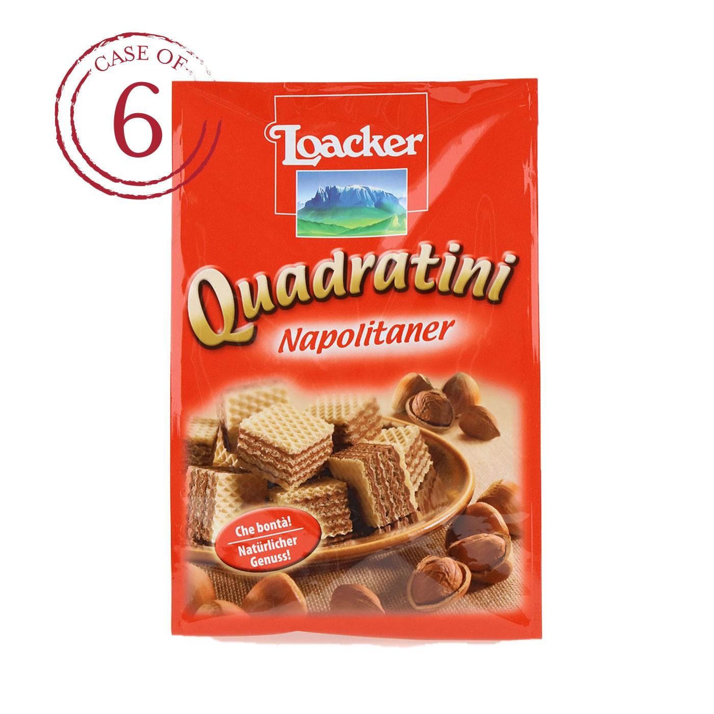 Hazelnut Quadratini 8.8 oz - Case of 6