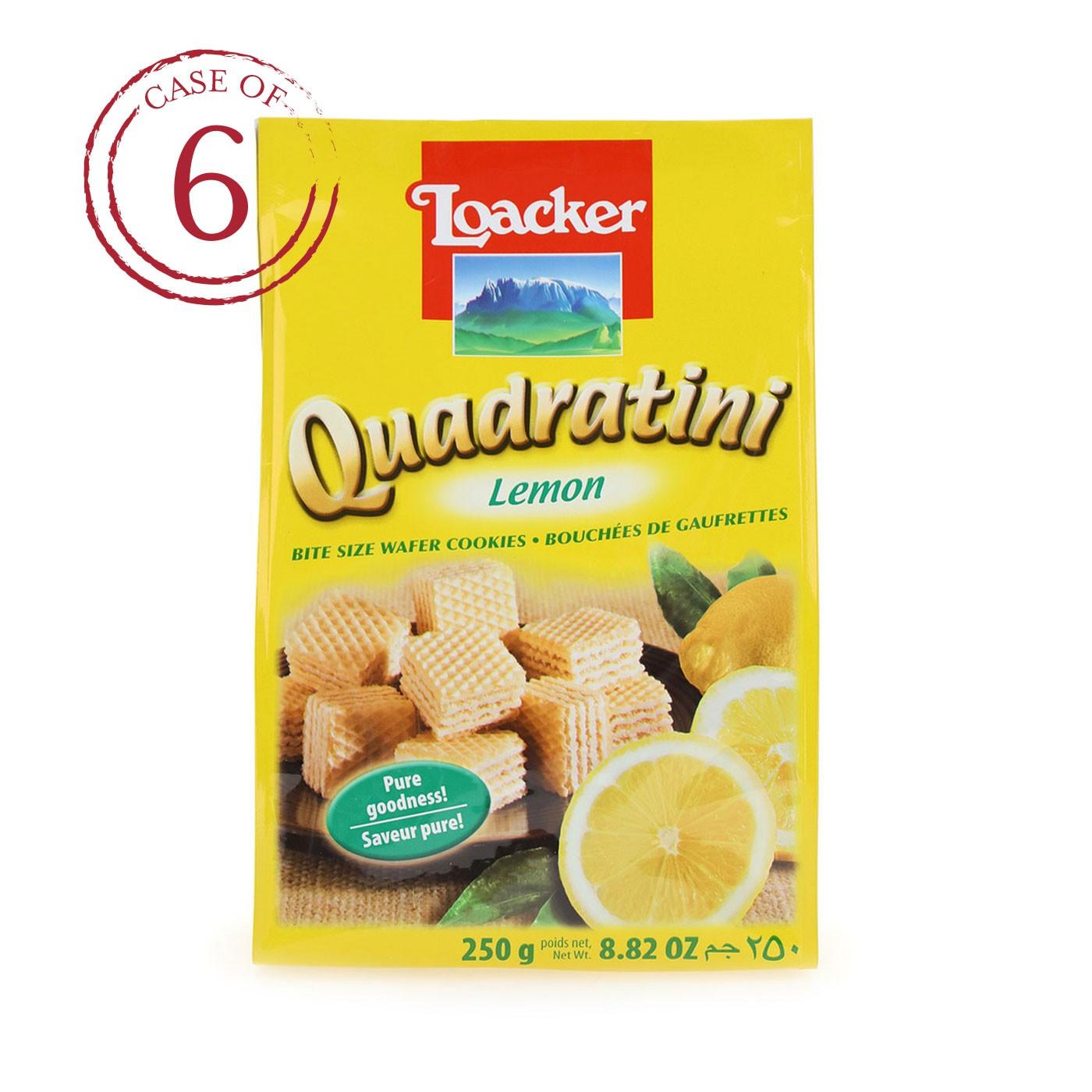 Lemon Quadratini 8.8 oz - Case of 6