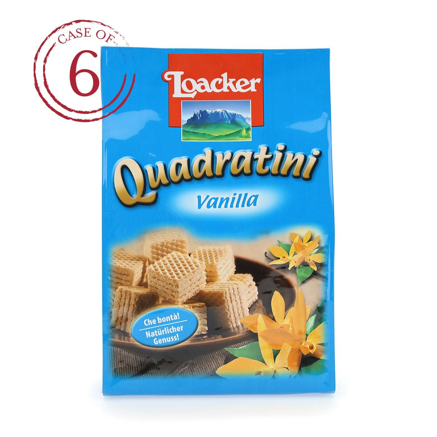 Vanilla Quadratini 8.8 oz - Case of 6
