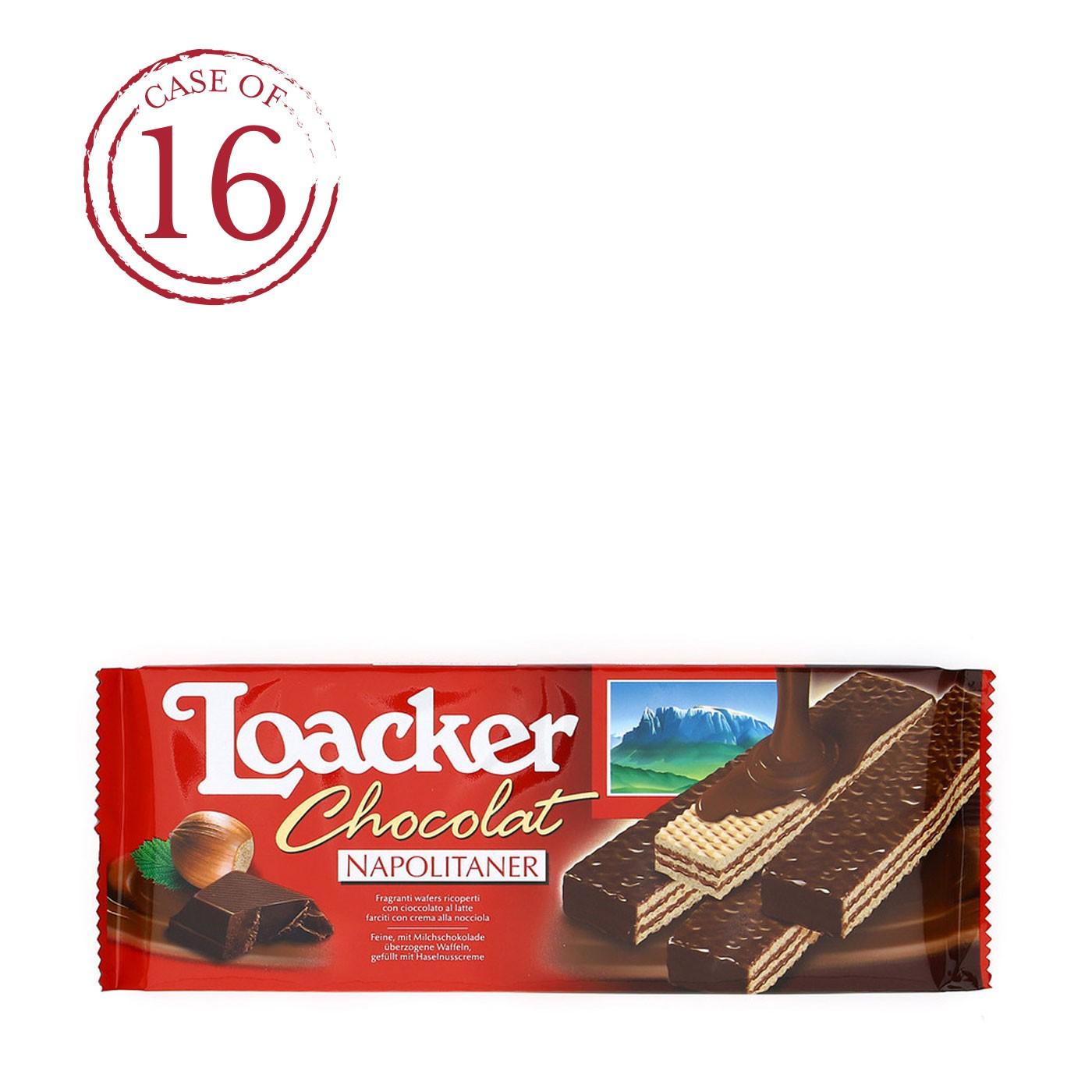 Chocolate Hazelnut Wafers 4.2 oz - Case of 16