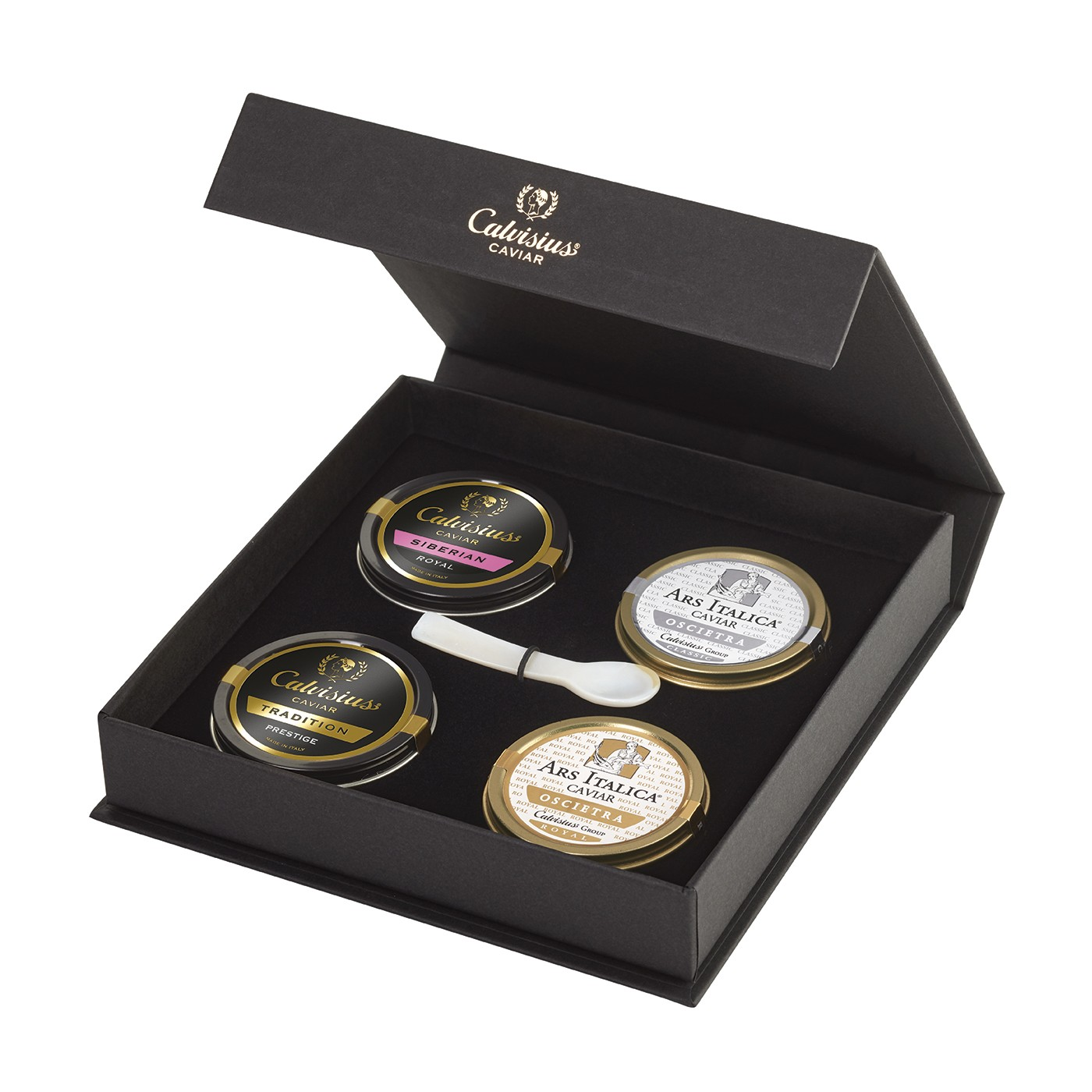 Caviar Four-Pack: Royal, Classic, Tradition, and Siberian 4*10g