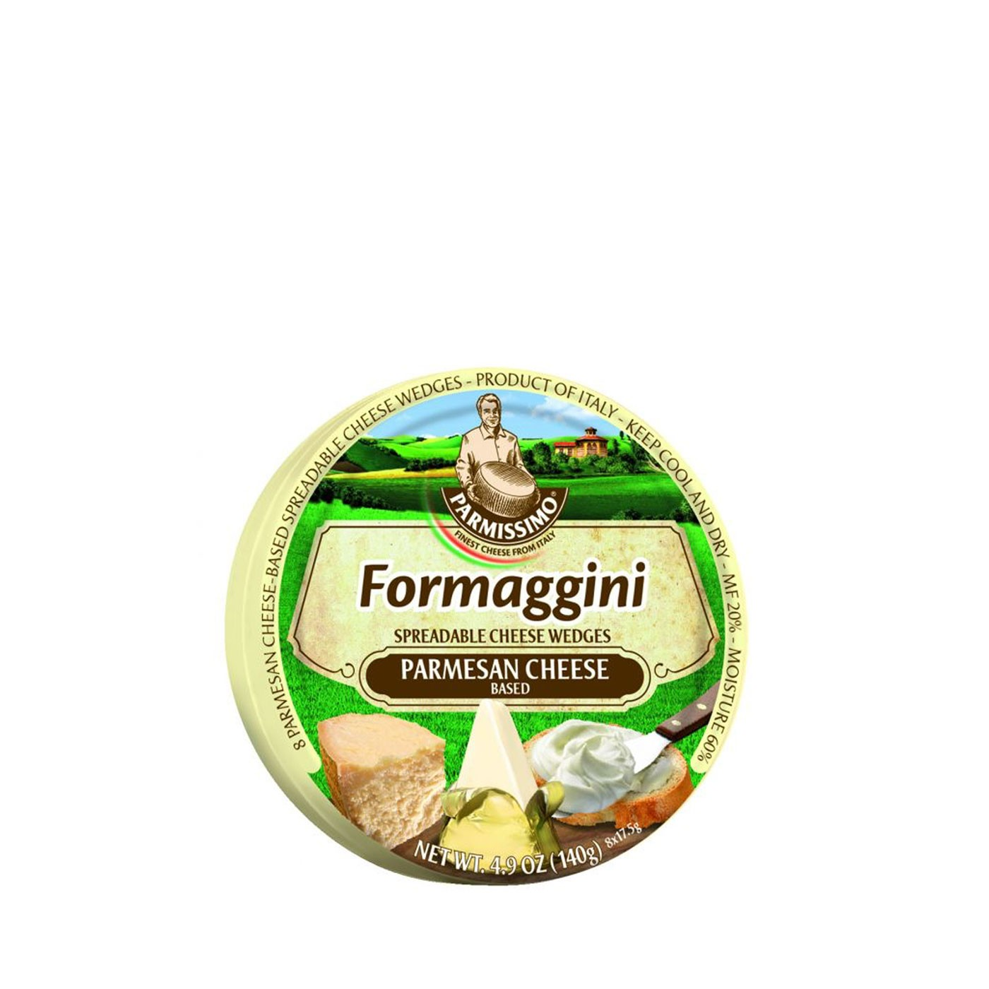 Spreadable Parmesan Cheese Wedges 4.9oz