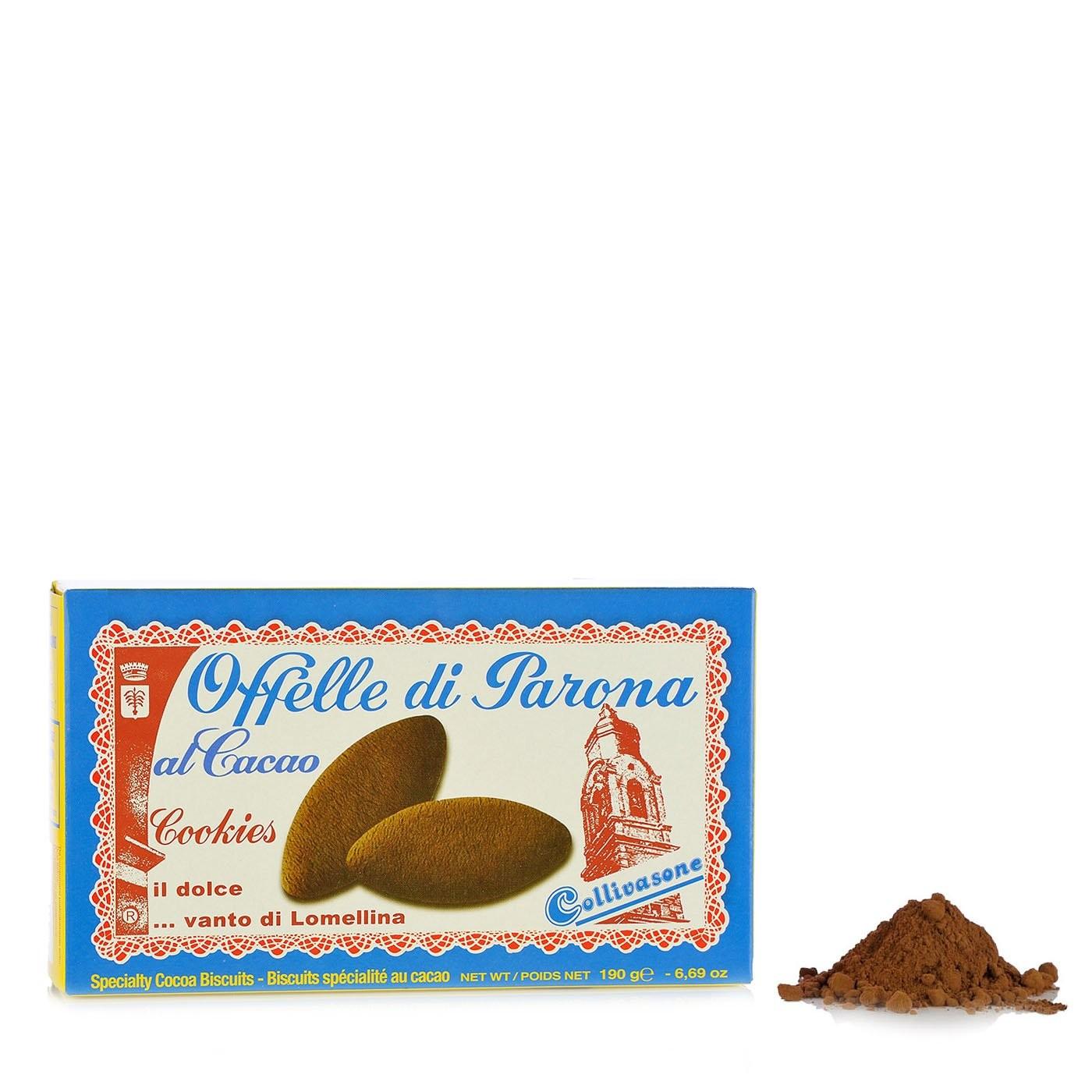 Cocoa Offelle di Parona Cookies 6.69oz