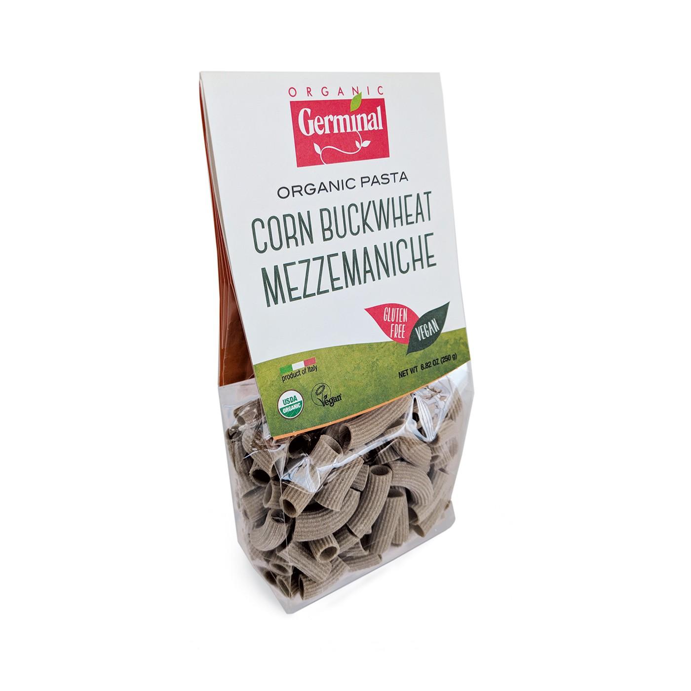 Buckwheat & Corn Mezze Maniche 8 oz