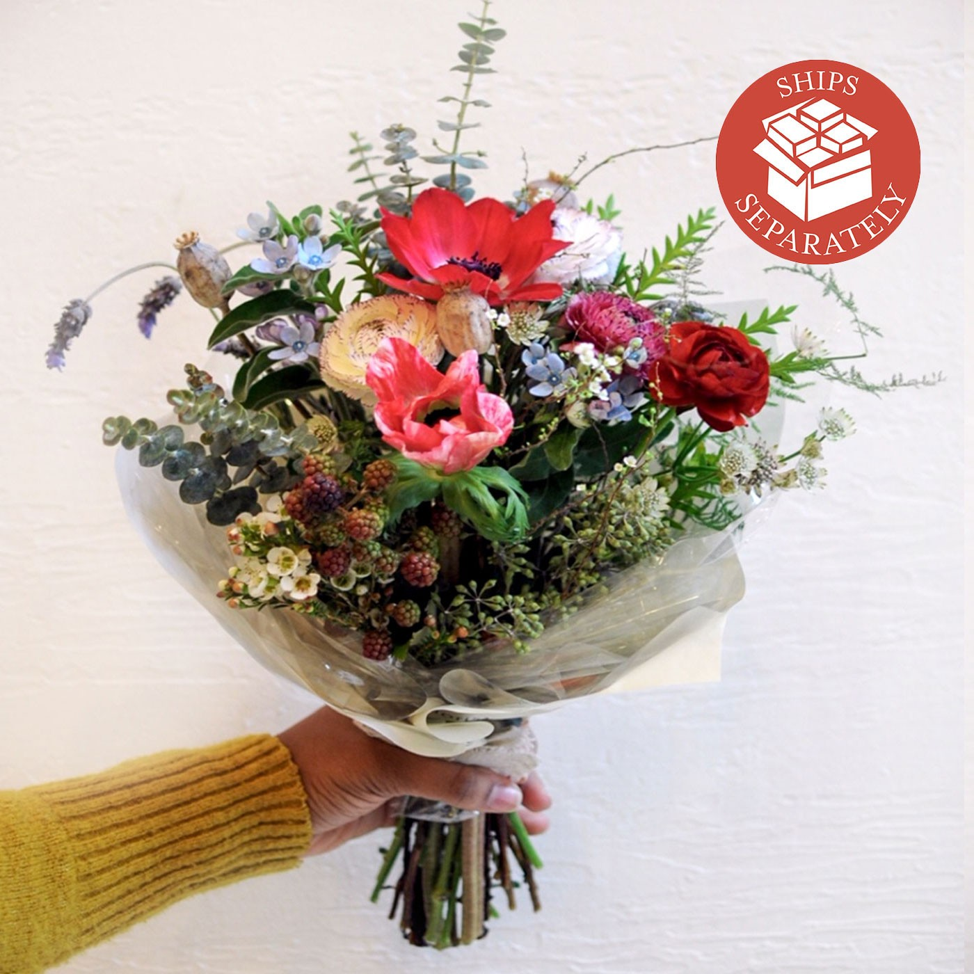 Hand-tied Flower Bouquet, 20 Stems - Il Fiorista | Eataly.com