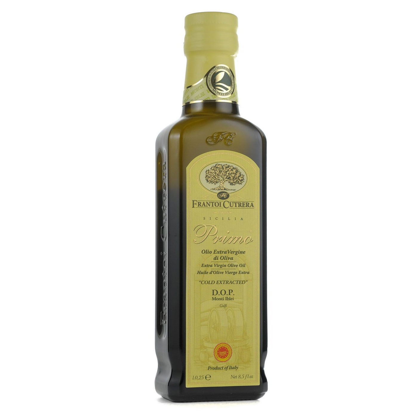 Primo Monte Iblei Extra Virgin Olive Oil DOP 8.5 oz