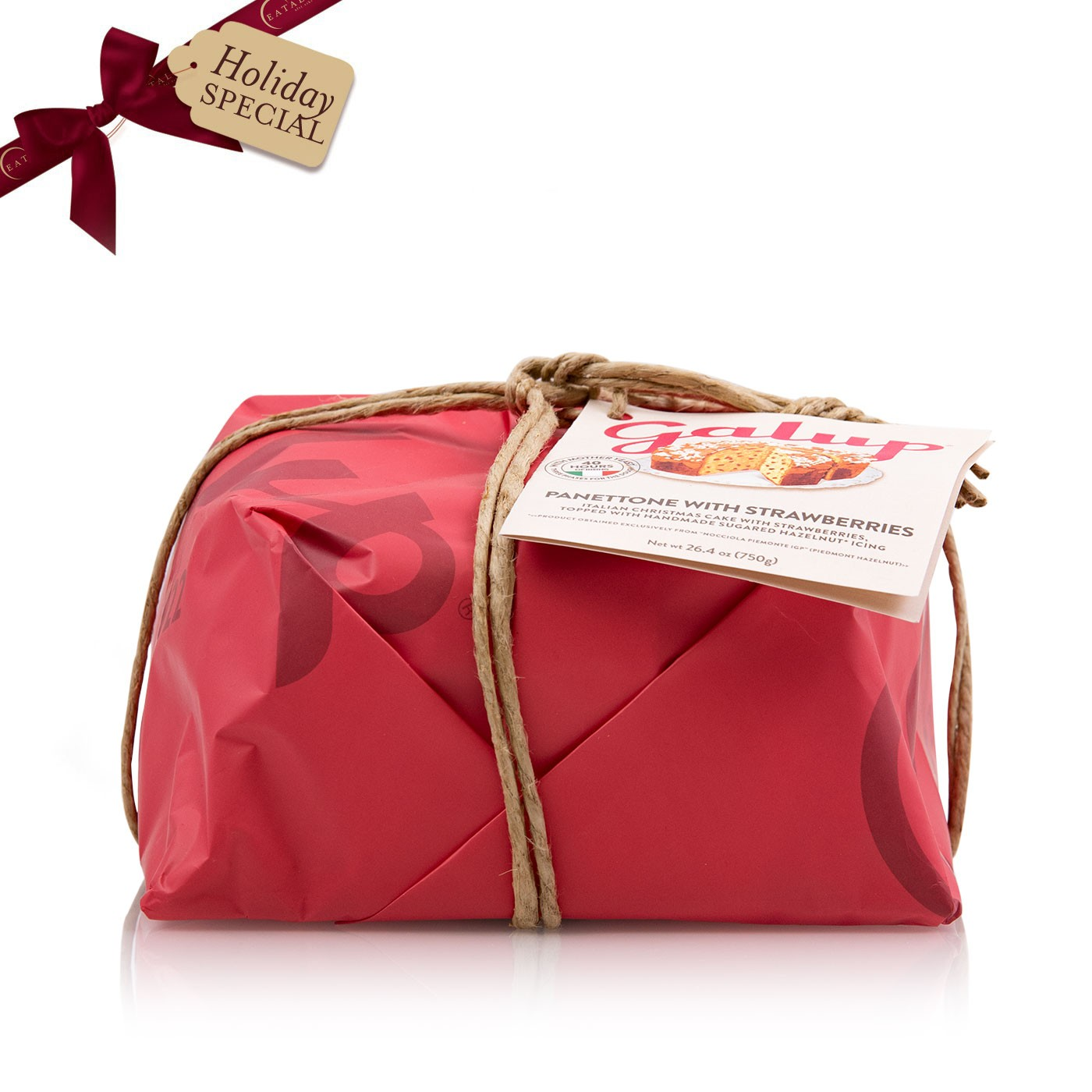 Strawberry Panettone 26 oz