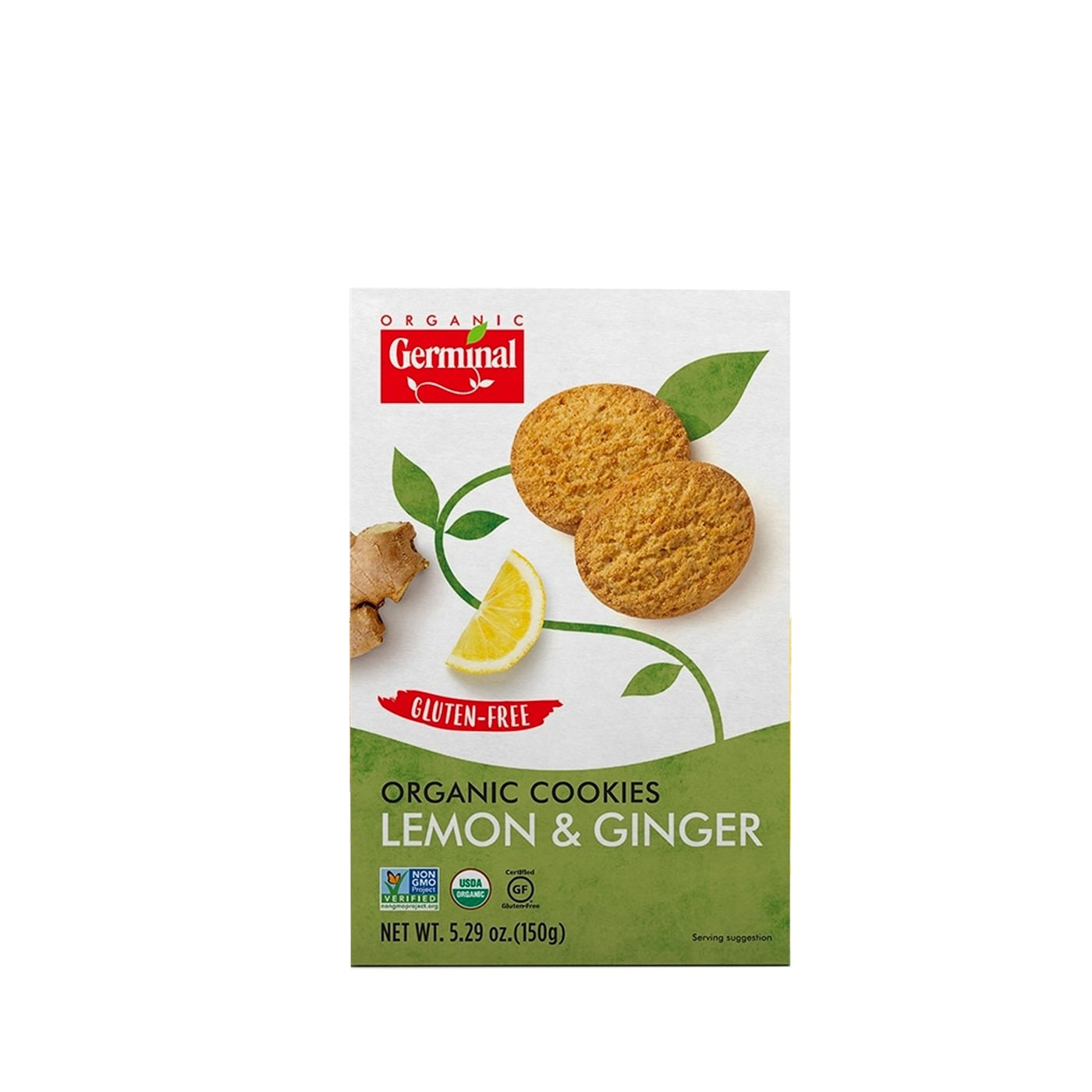 Lemon and Ginger Cookies 5 oz