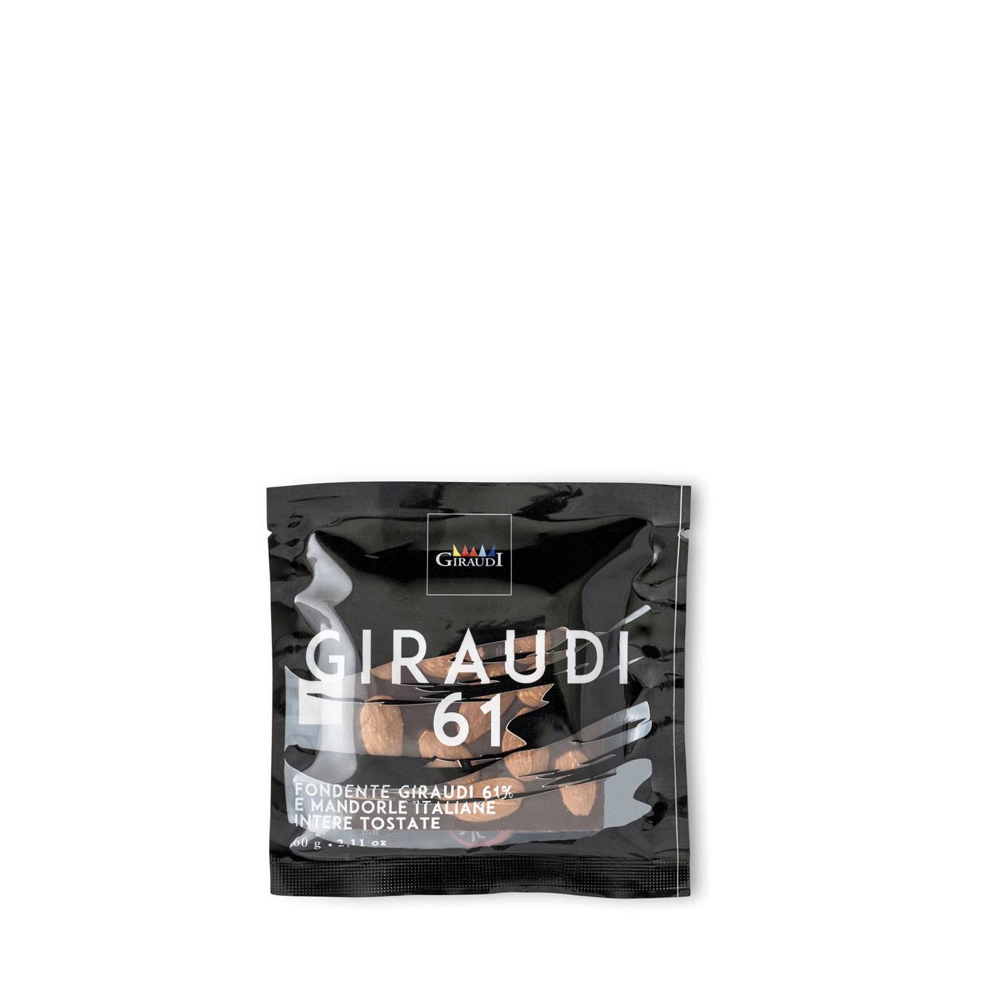 Dark Chocolate with Almonds 2.11 oz