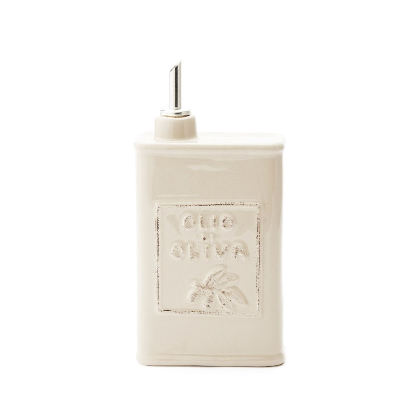 Lastra Linen Olive Oil Can
