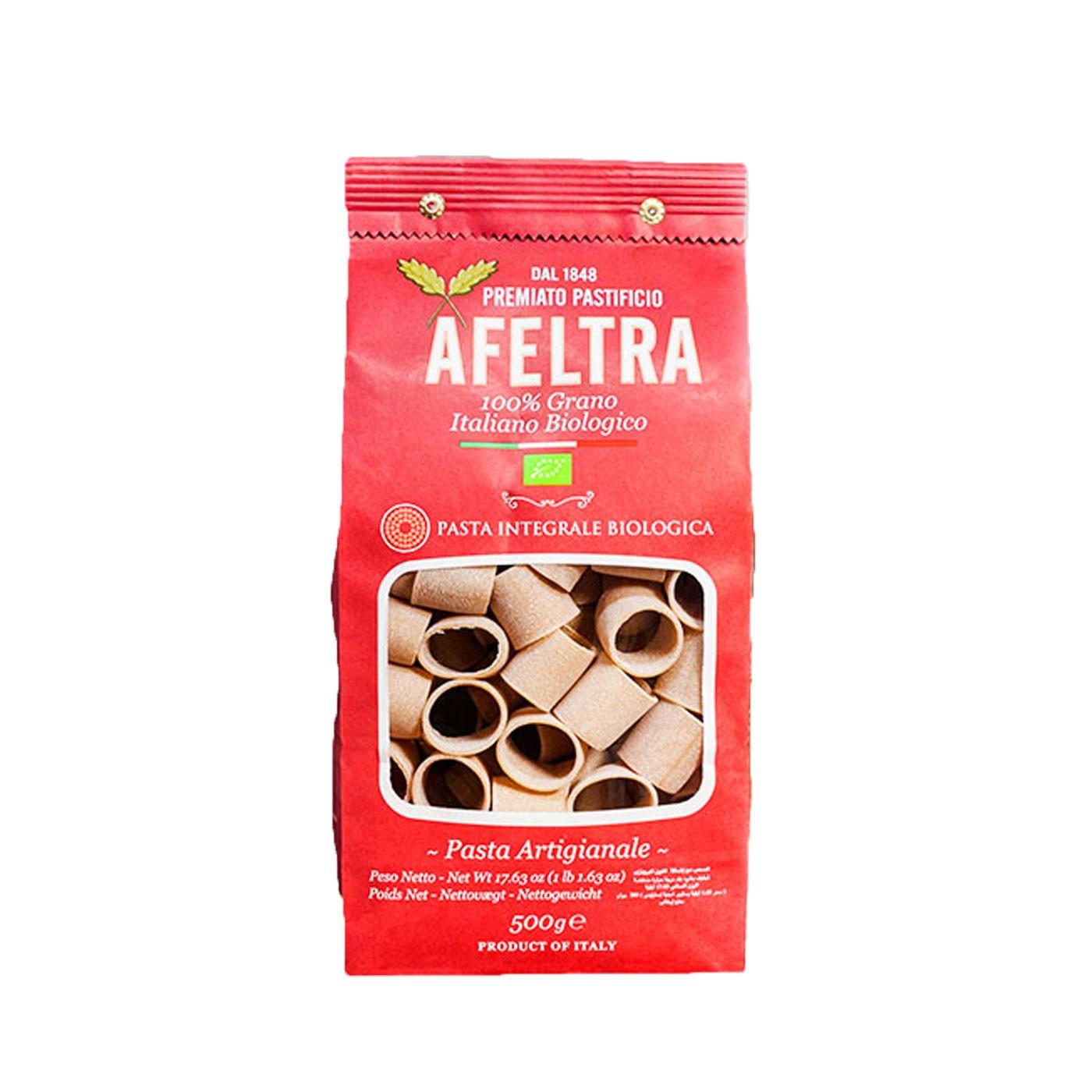 Organic Wholewheat Mezzi Paccheri 17.6 oz